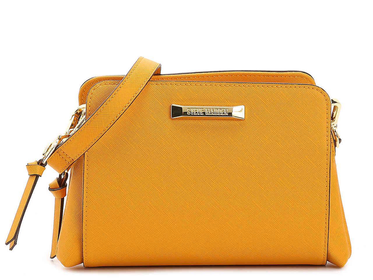 c2af9f416 Steve Madden Blannis Crossbody Bag in Yellow - Lyst