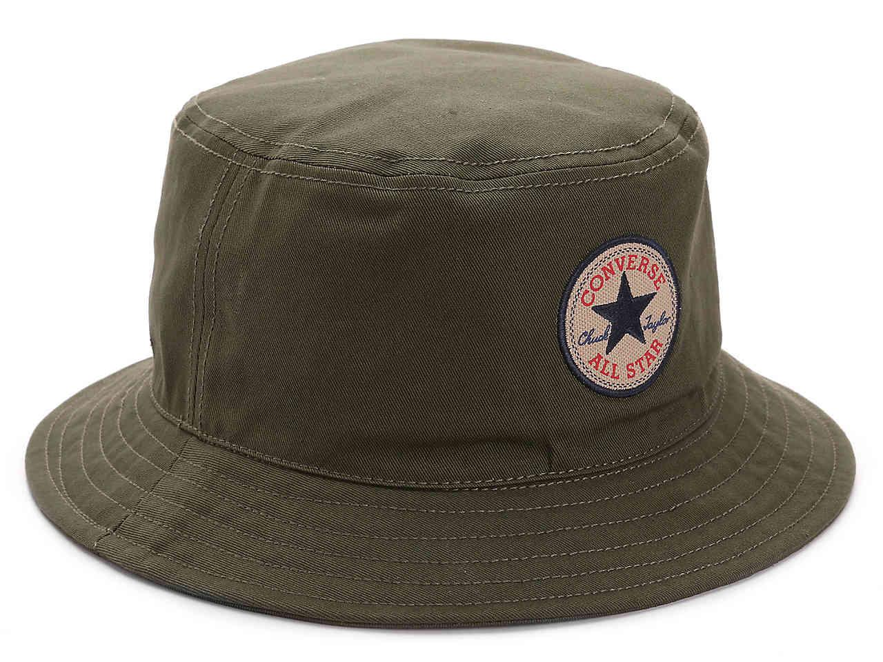 1c2a180fe89 Lyst - Converse Classic Bucket Hat in Green for Men