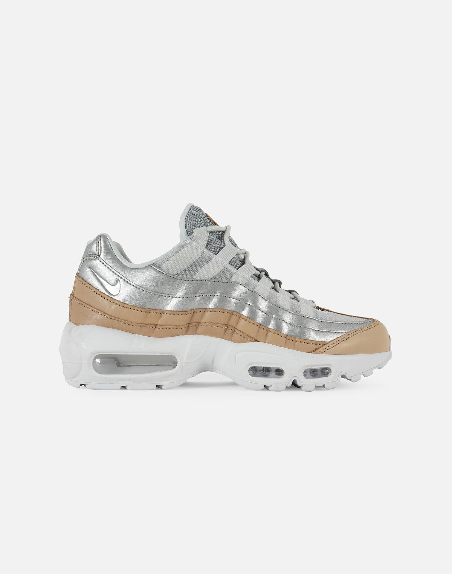 lowest price 847eb 5228a Nike. Women s Gray Wmns Air Max 95 Se Premium