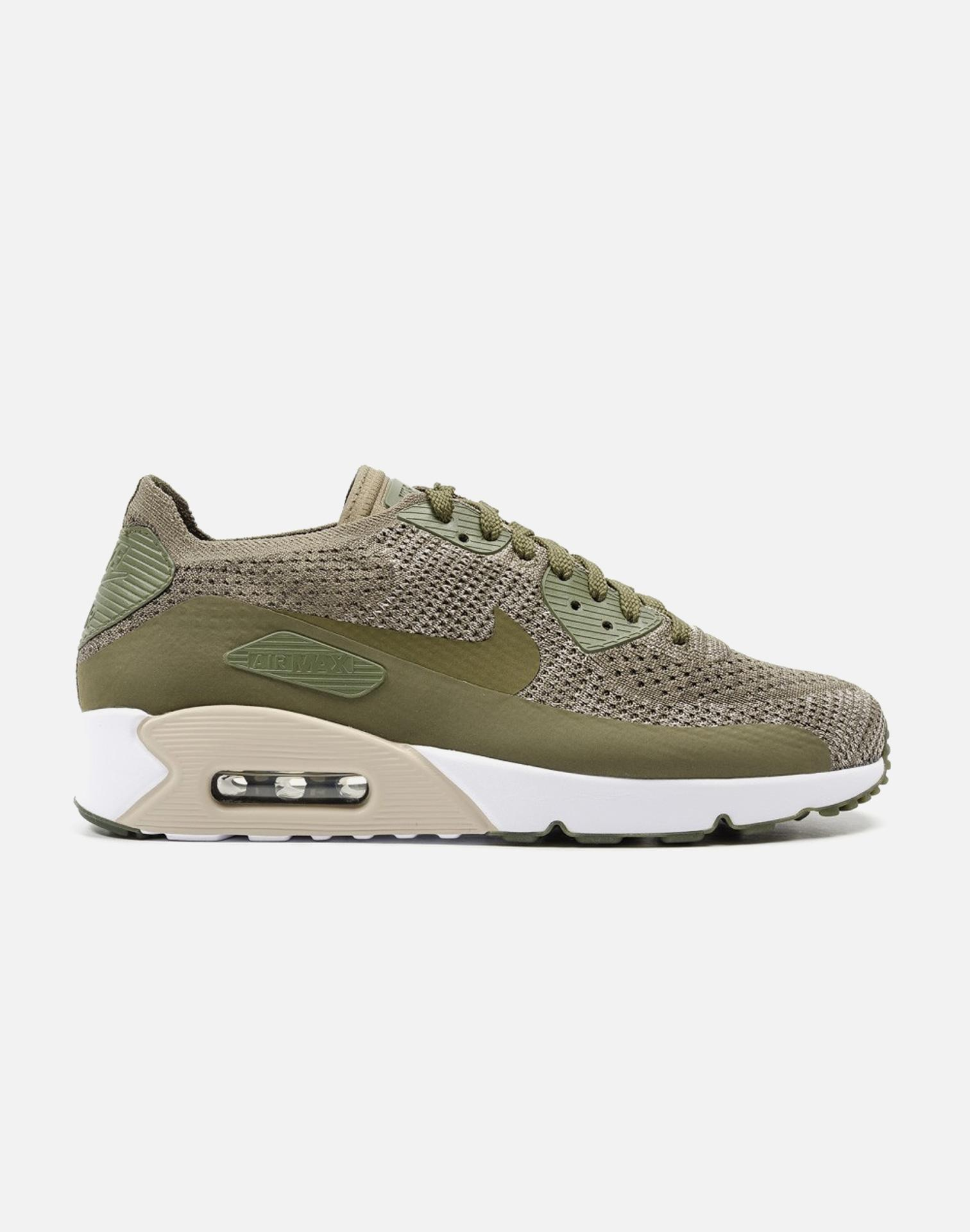 9bd99205fe82 Lyst - Nike Air Max 90 Ultra 2.0 Flyknit in Green for Men