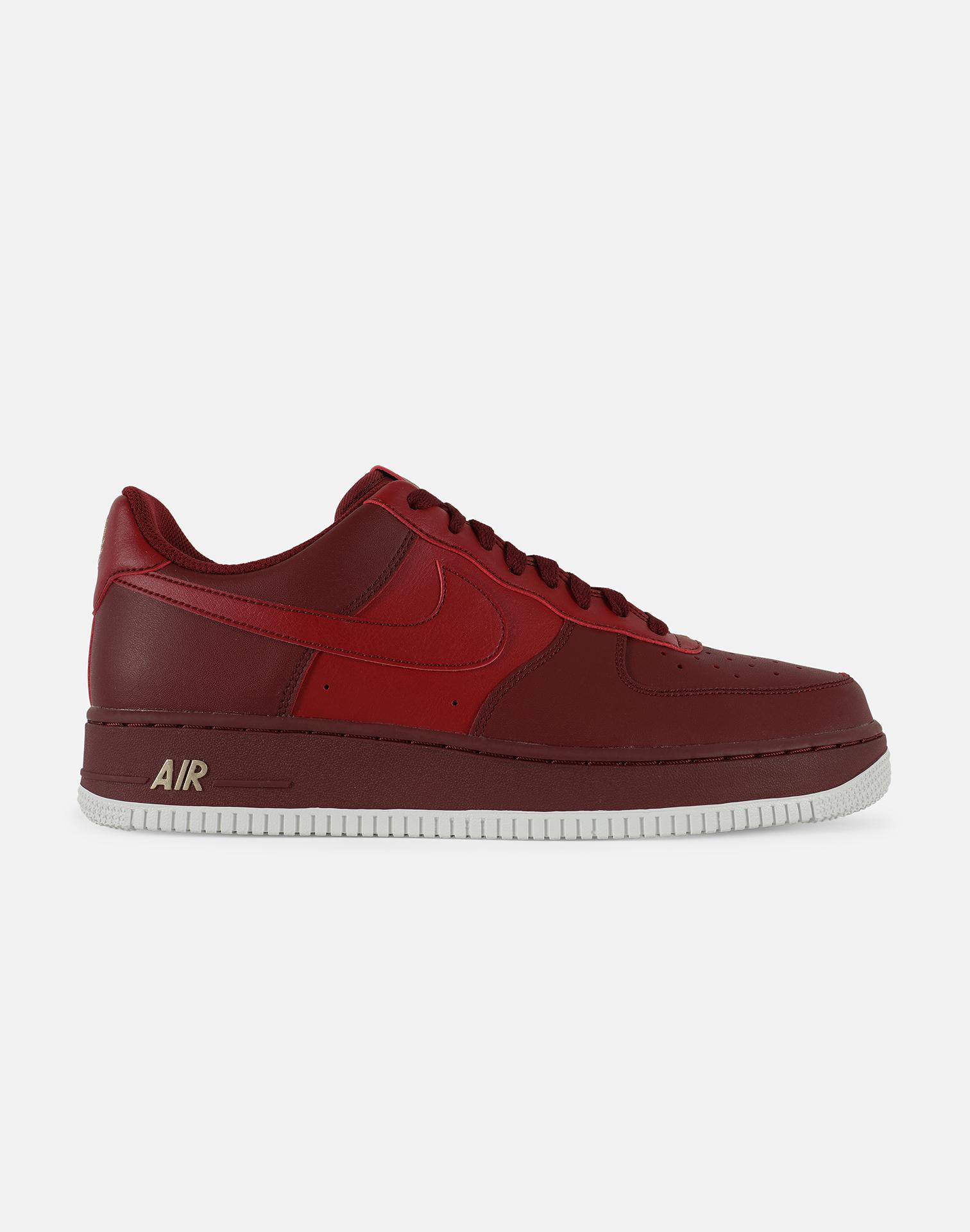 uk availability a427a e00a1 Nike. Men s Red Air Force 1  07 Low