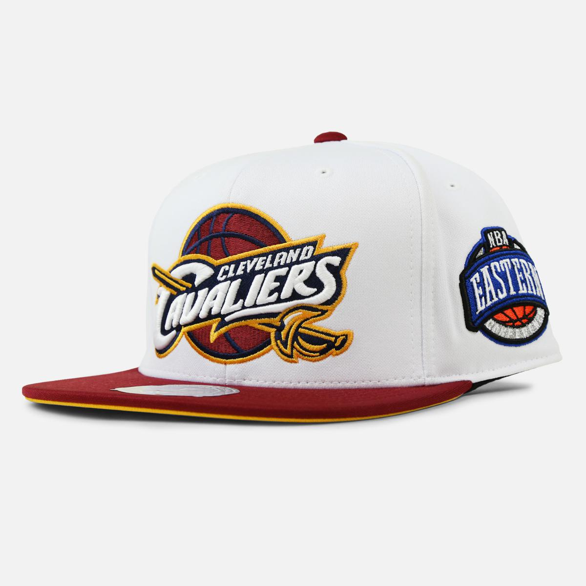 buy online 4a897 362a1 Lyst - Mitchell   Ness Cleveland Cavaliers High Crown Fitted in ...