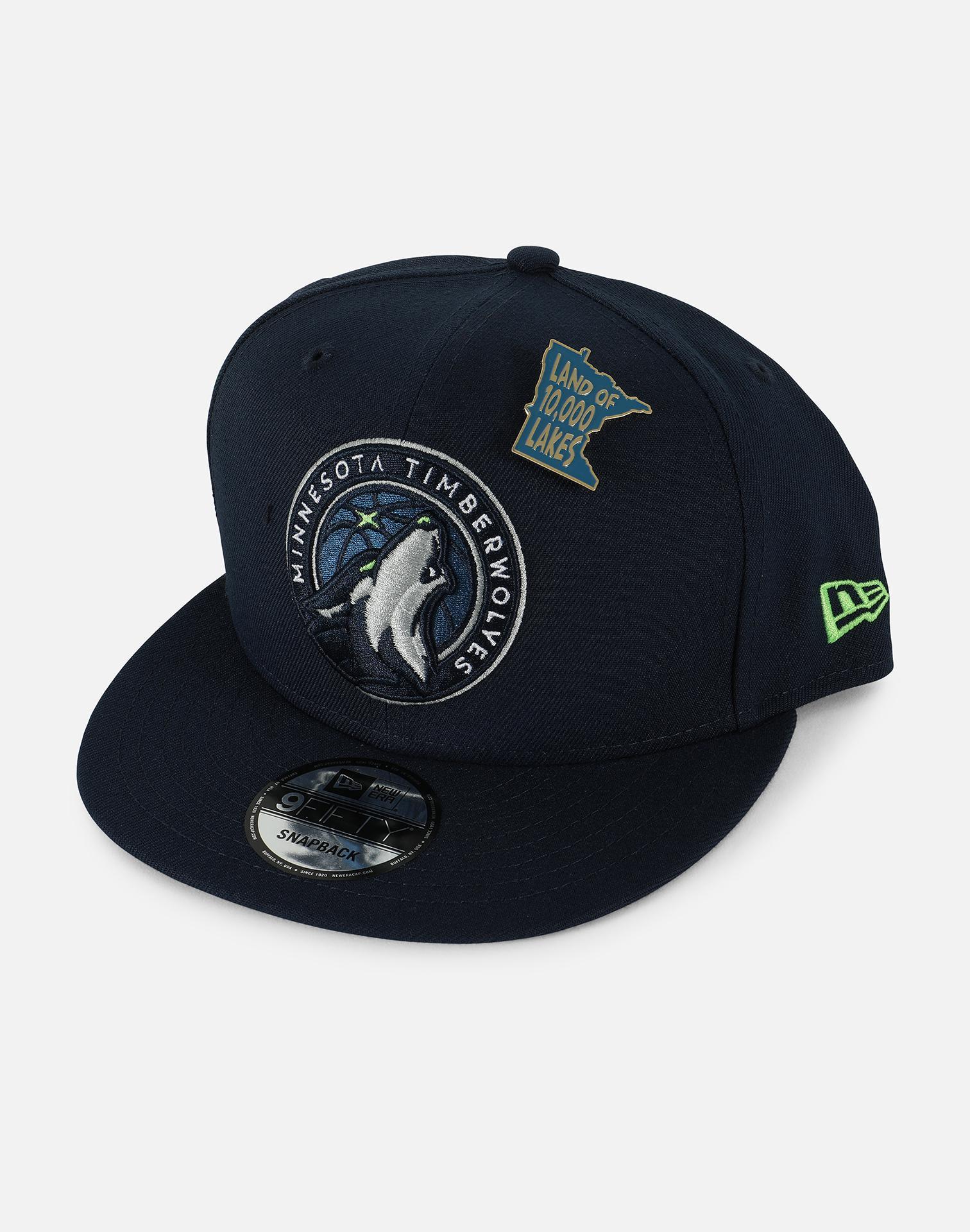 sports shoes 37cf7 05f11 Lyst - Ktz Minnesota Timberwolves Nba 2018 Draft 9fifty Snapback Hat ...