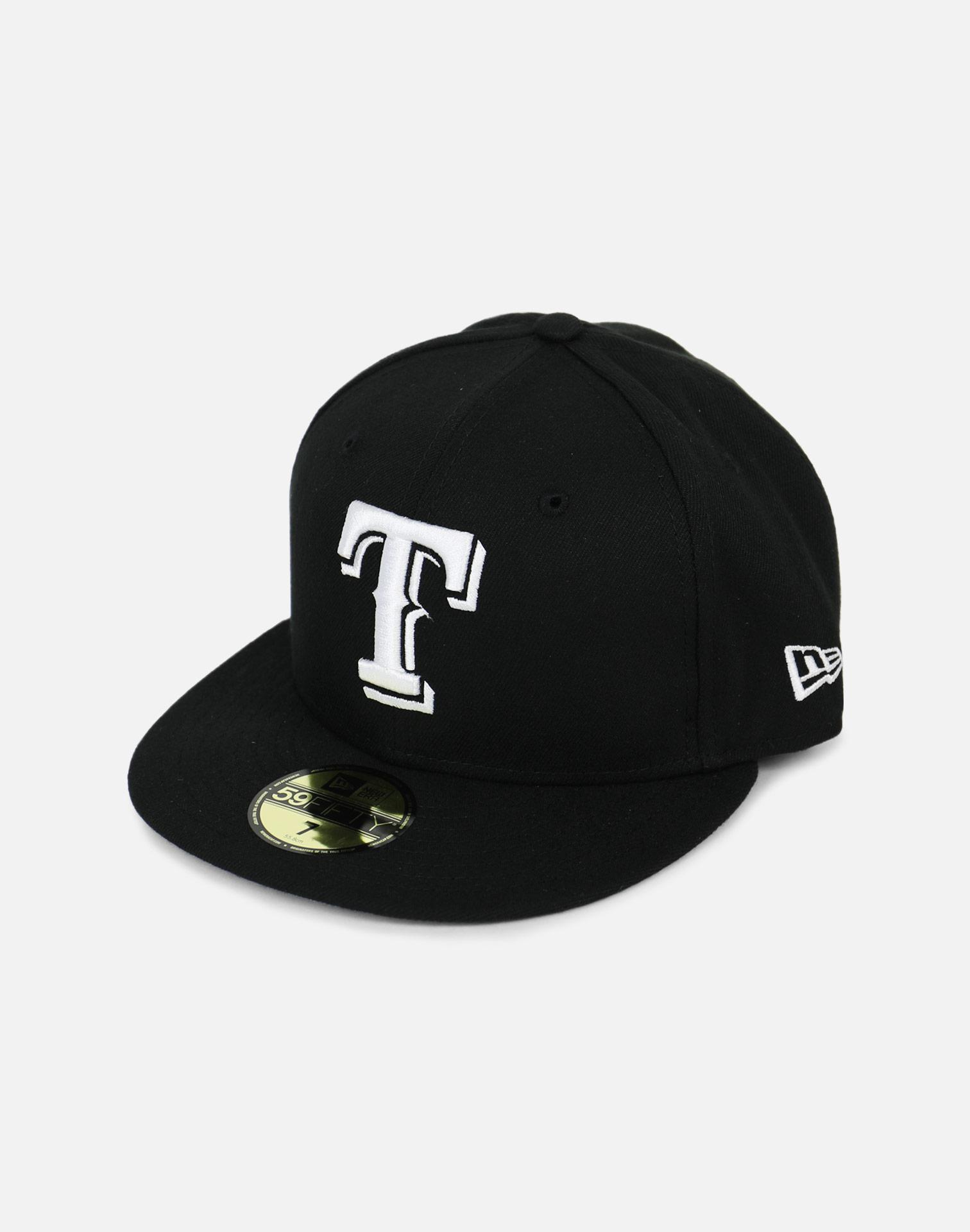 the latest 1c91d 2bbfb ... store ktz texas rangers black fitted hat for men lyst. view fullscreen  b9ae7 99e89