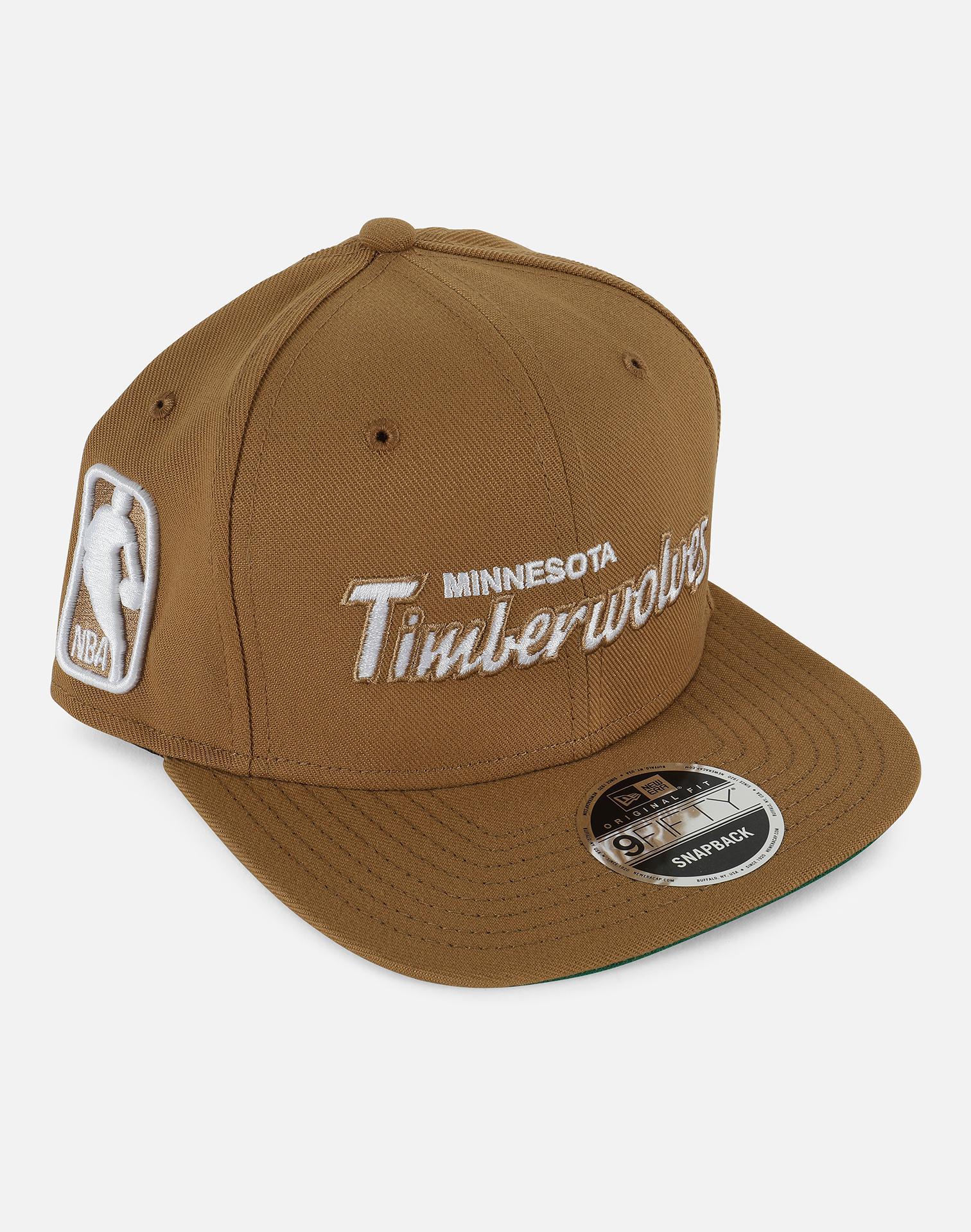 newest db2ae ffada ... new era nba fall dubs 9fifty snapback cap 5d60e 337b6  reduced ktz brown  950 nba minnesota timberwolves snapback hat for men lyst. view fullscreen  6bff3