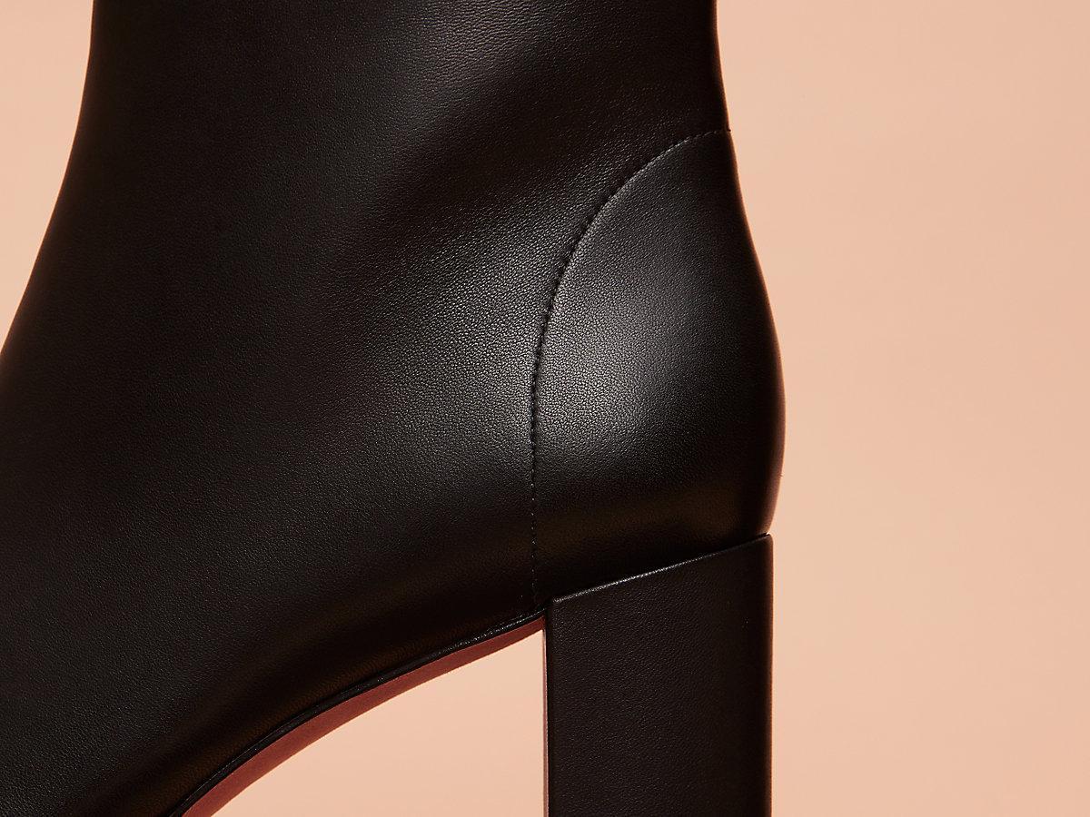 3f35ec633997 Diane von Furstenberg - Black Yasmine Platform Boots - Lyst. View fullscreen