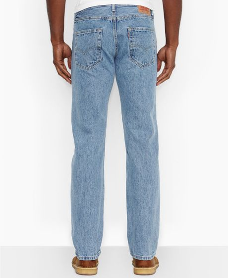 Levi's 501 Original Fit Stone Wash Jeans in Blue for Men ...