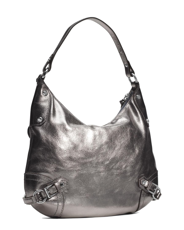 dd5c04ac4ff9 Lyst - MICHAEL Michael Kors Large Fallon Hobo Shoulder Bag Nickel in ...