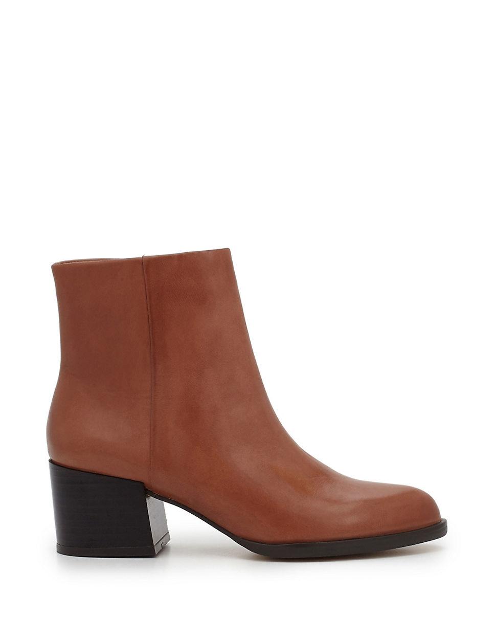 Womens Boots Sam Edelman Joey Saddle Tan