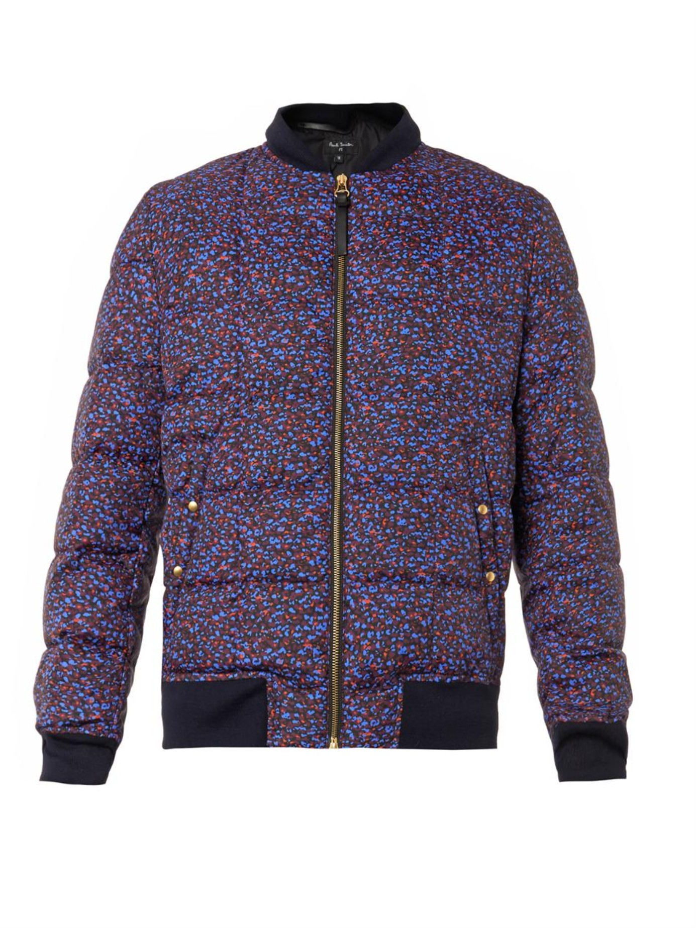 Ps By Paul Smith Stippled Colour Print Bomber Jacket For