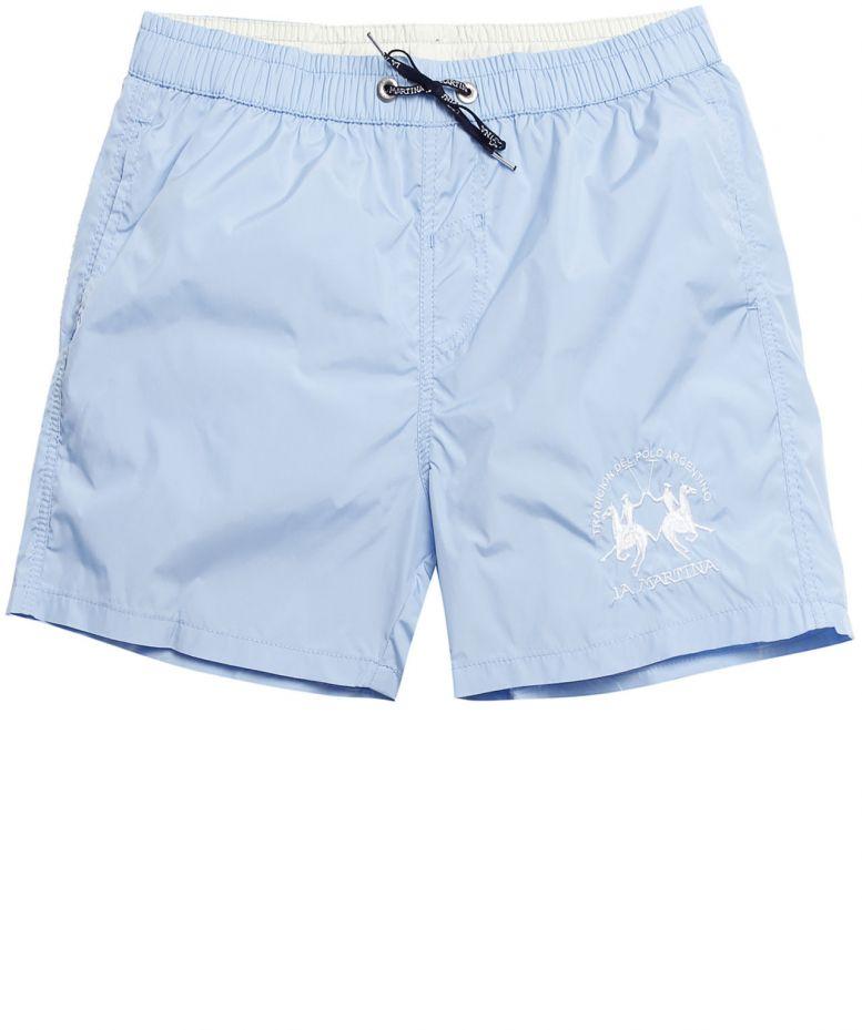 0dd0439e8b La Martina Logo Swim Shorts in Blue for Men - Lyst