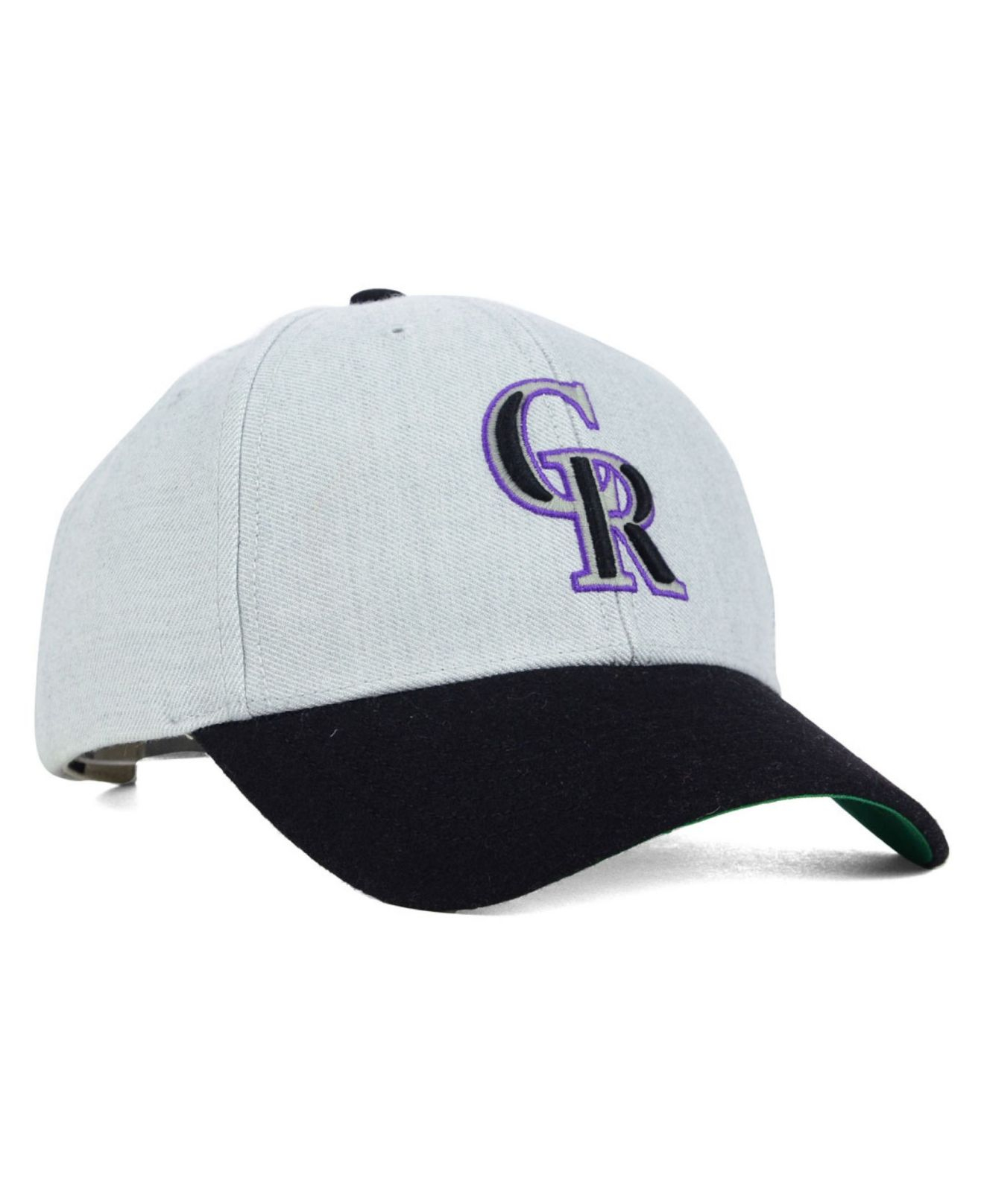 differently 4637e cb5bc ... sweden lyst 47 brand colorado rockies munson mvp cap in gray for men  77bc9 af649