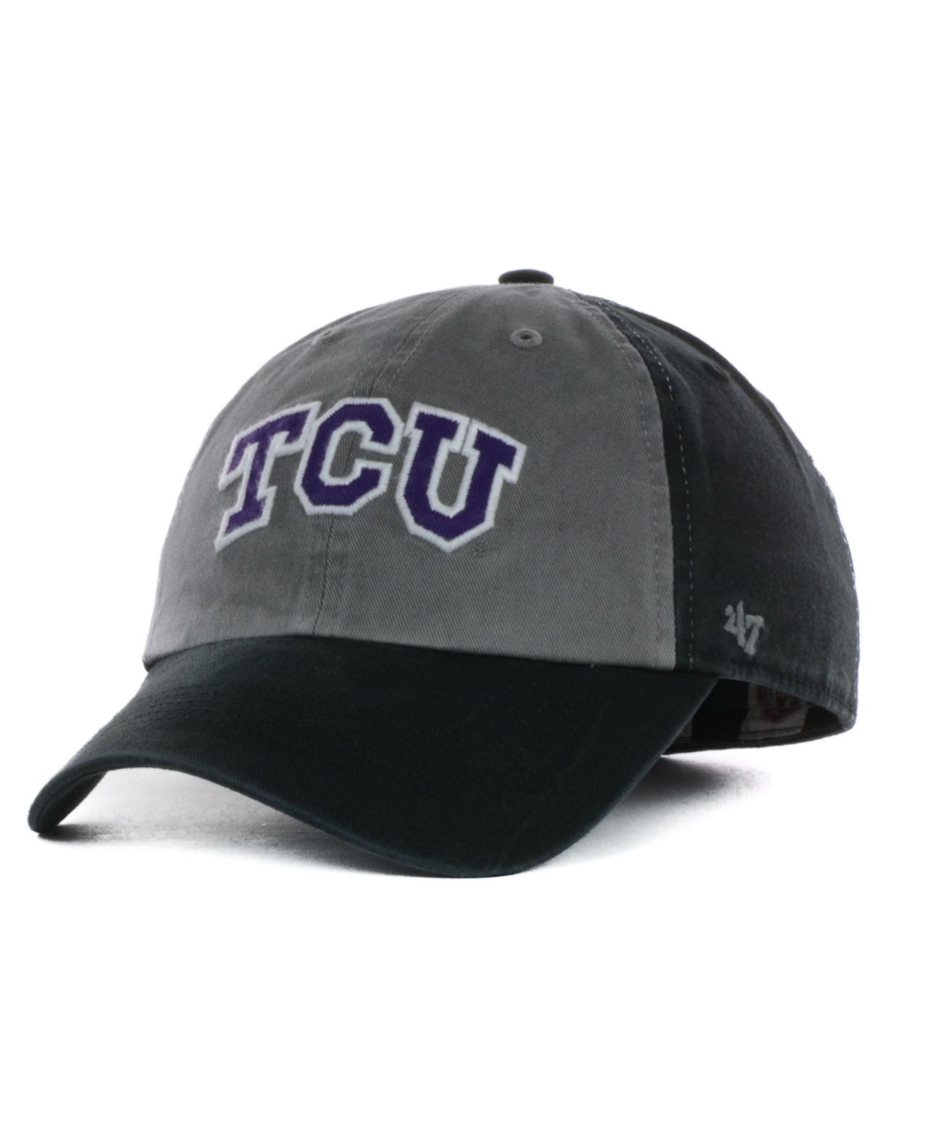 0f0535f54e23a ... coupon code for lyst 47 brand texas christian horned frogs undergrad  easy fit cap d2560 325c6