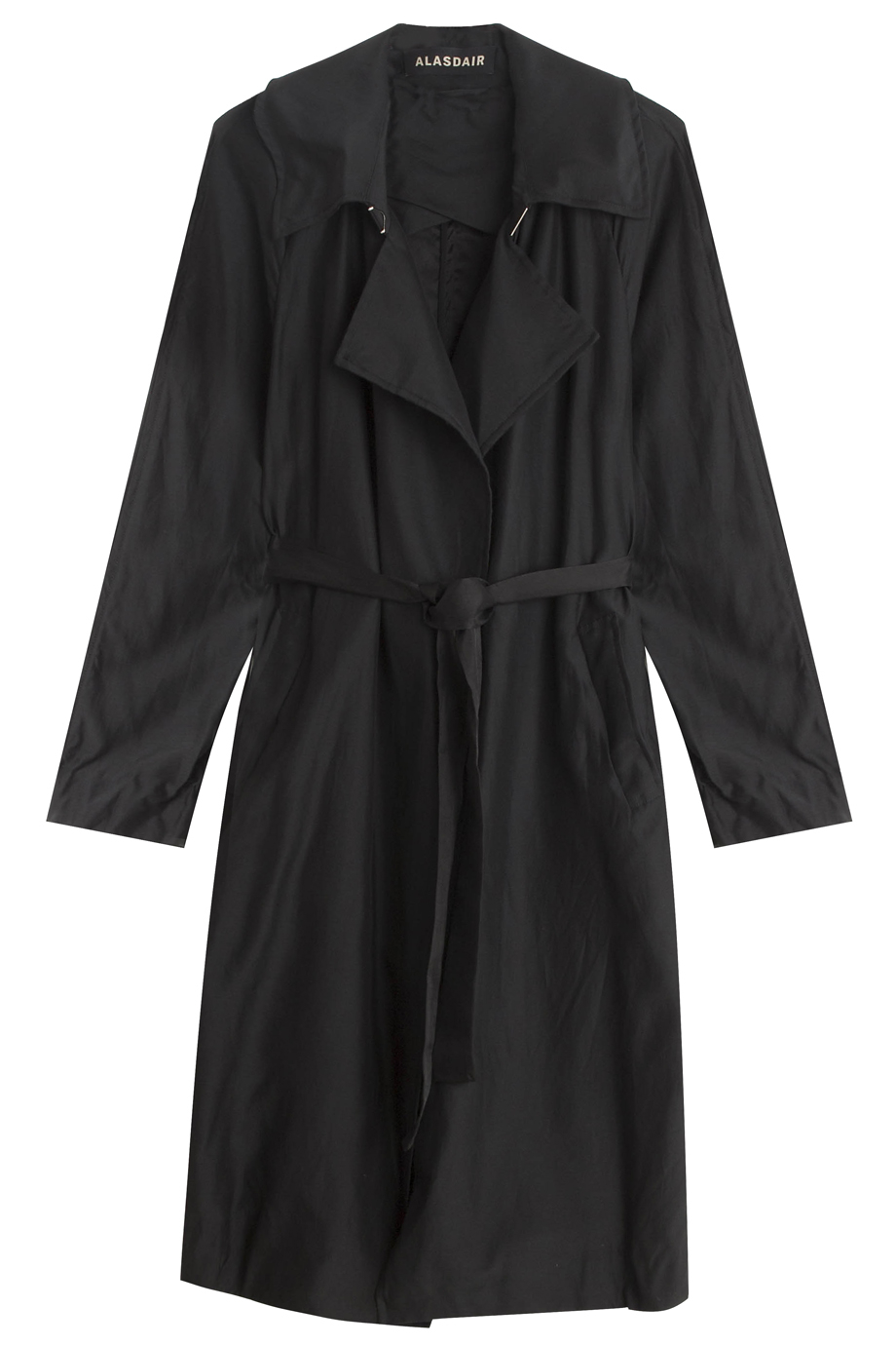 Black Summer Coat