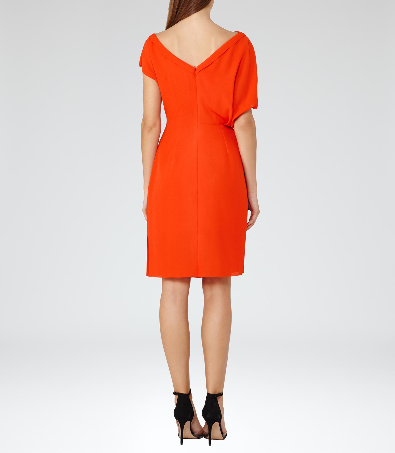 T tahari red dress yuna