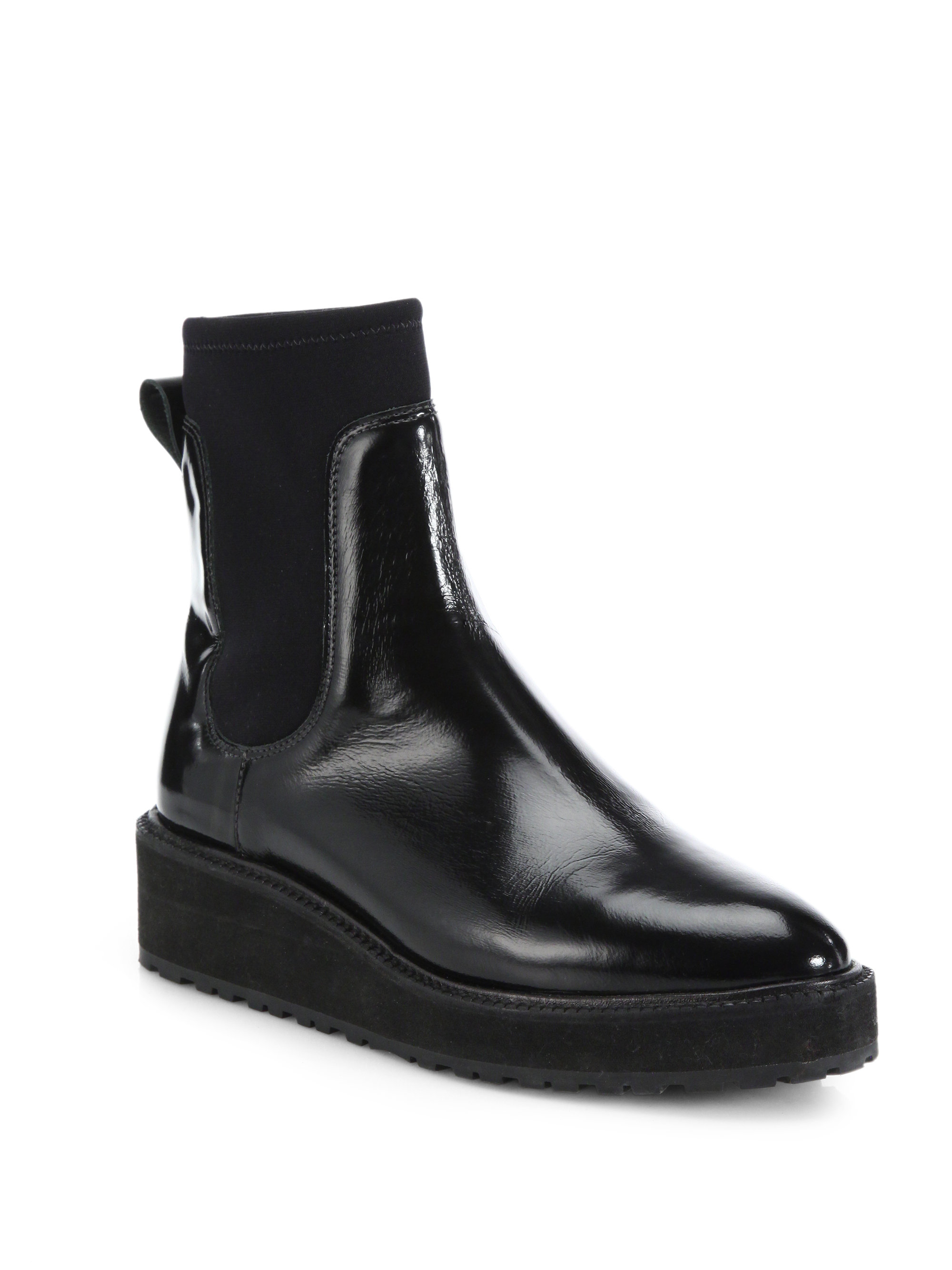 sale with paypal cheap sale 2014 Loeffler Randall Leather Wedge Boots get to buy sale online discount low shipping HkiL5HUjge