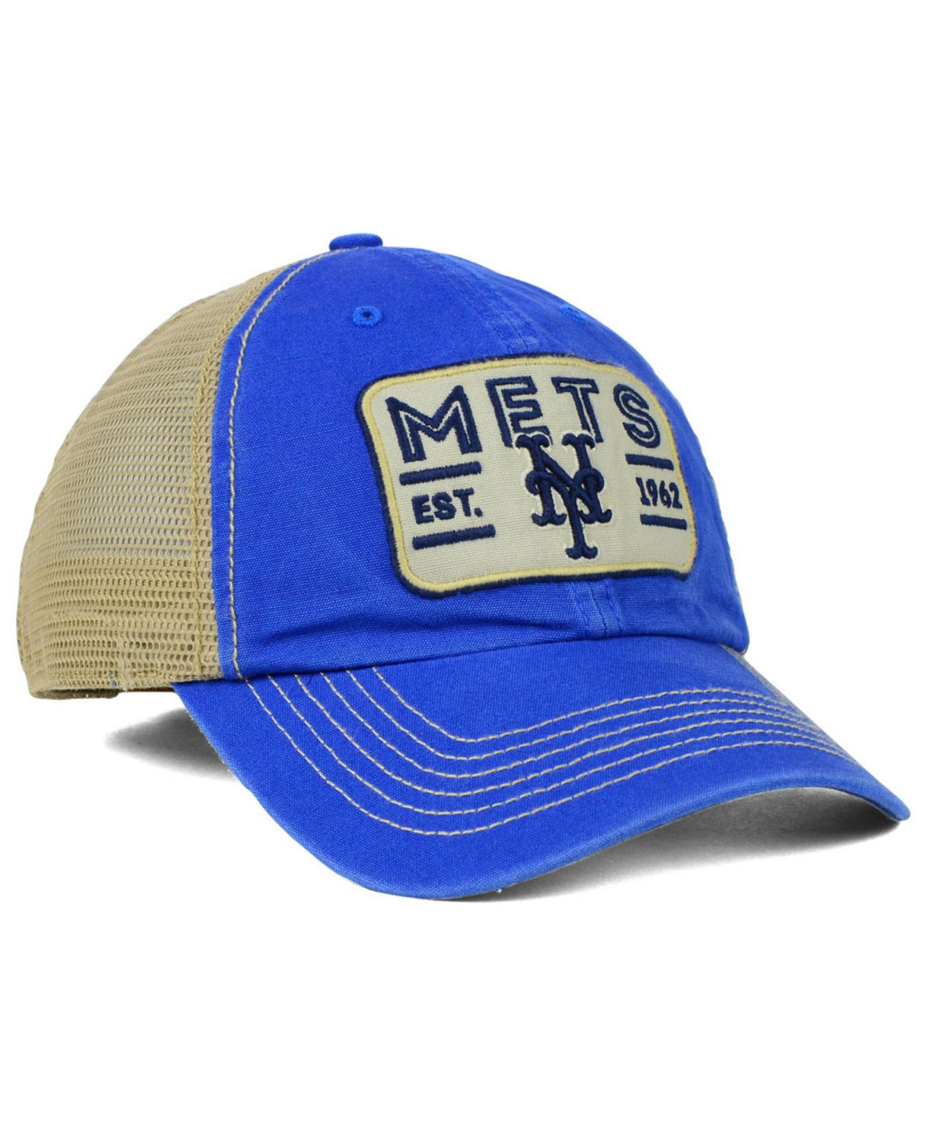 classic fit 9f484 ec49d ... promo code for lyst 47 brand new york mets goin yard mesh cap in blue  for