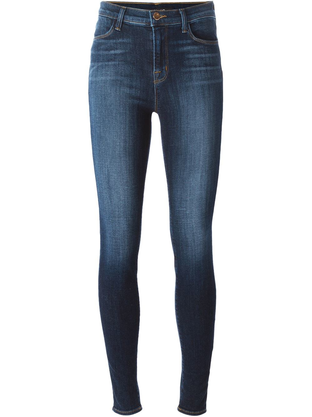 j brand maria skinny jeans in blue lyst. Black Bedroom Furniture Sets. Home Design Ideas