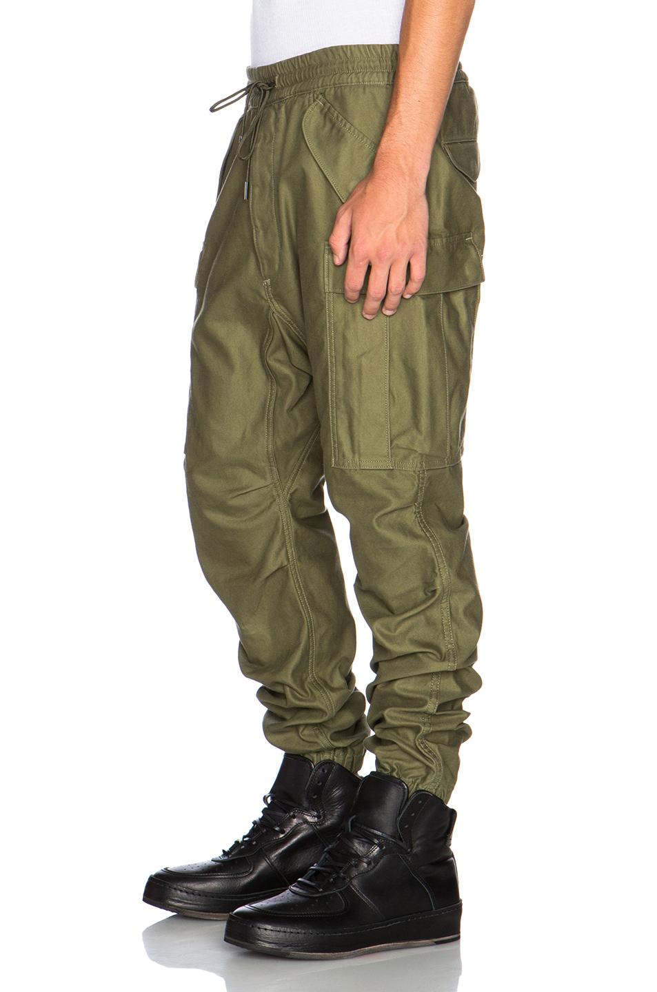 Nlst Men's Cargo Pants in Green | Lyst