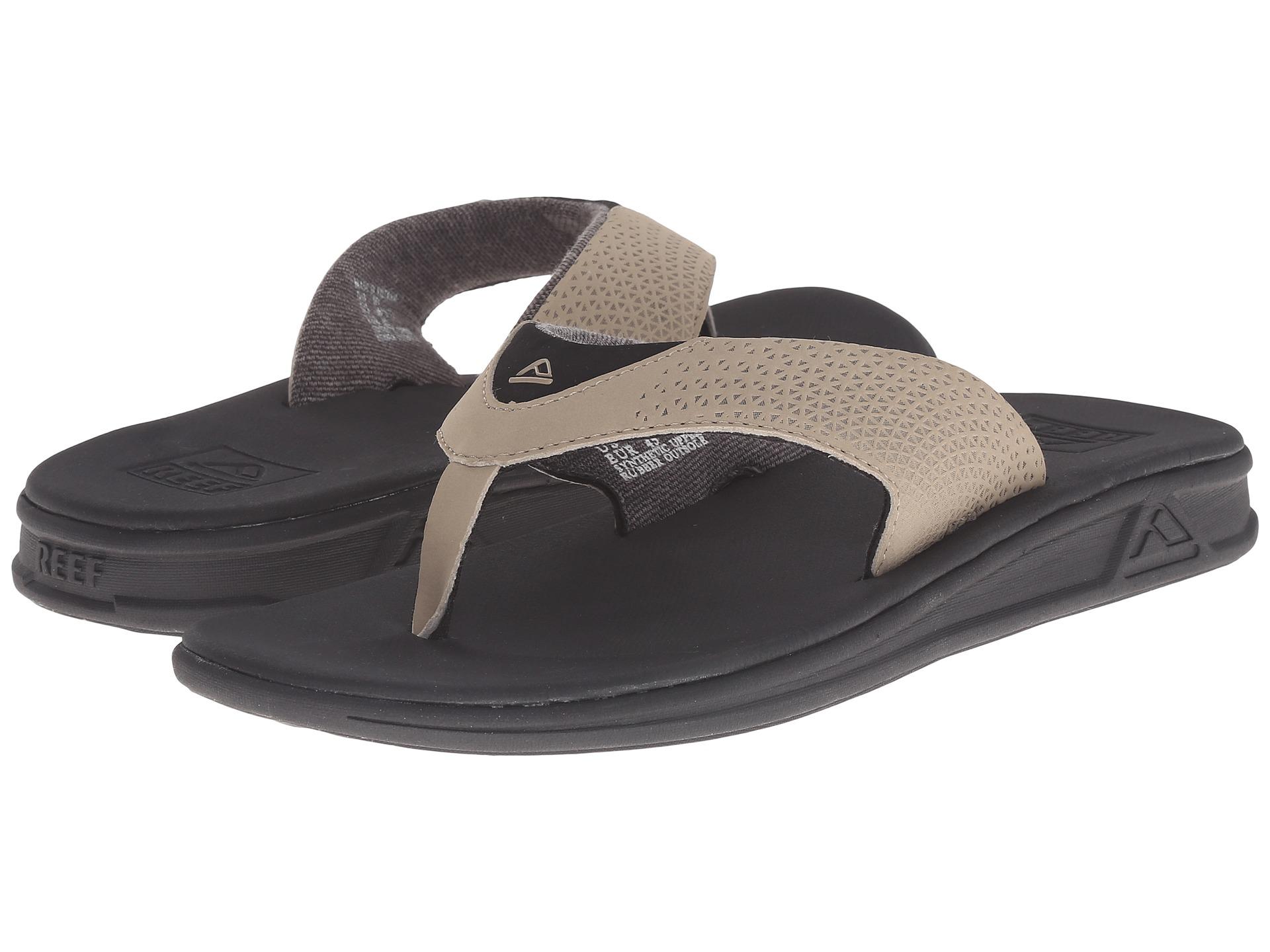 Black reef sandals - Gallery