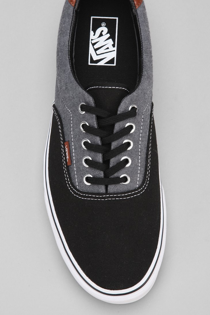 d7c3bea651ff31 Lyst - Vans Era 59 Canvas Chambray Men S Sneaker in Black for Men