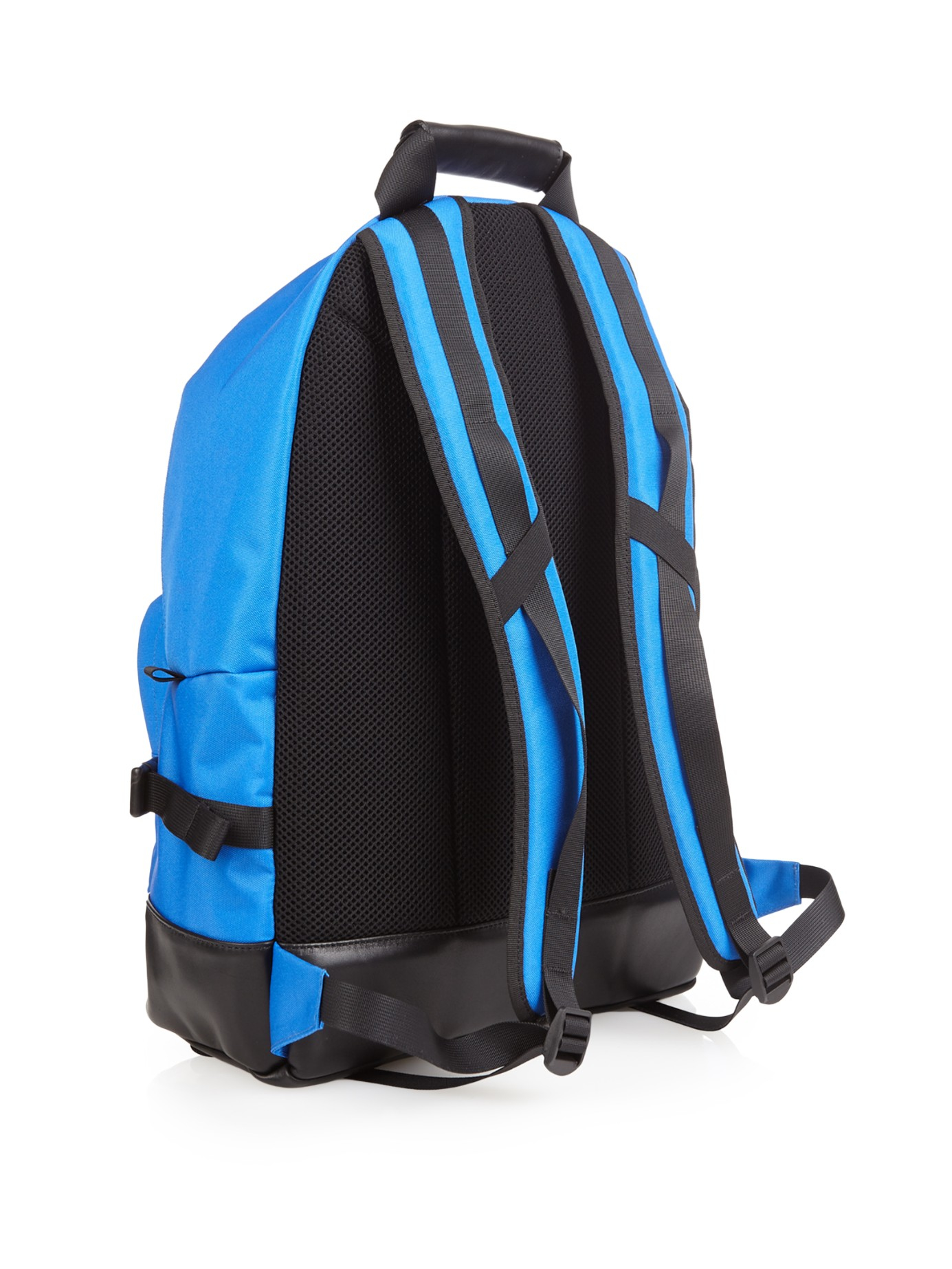 Lyst - AMI Nylon-canvas Backpack in Blue for Men 5eb140429e99b
