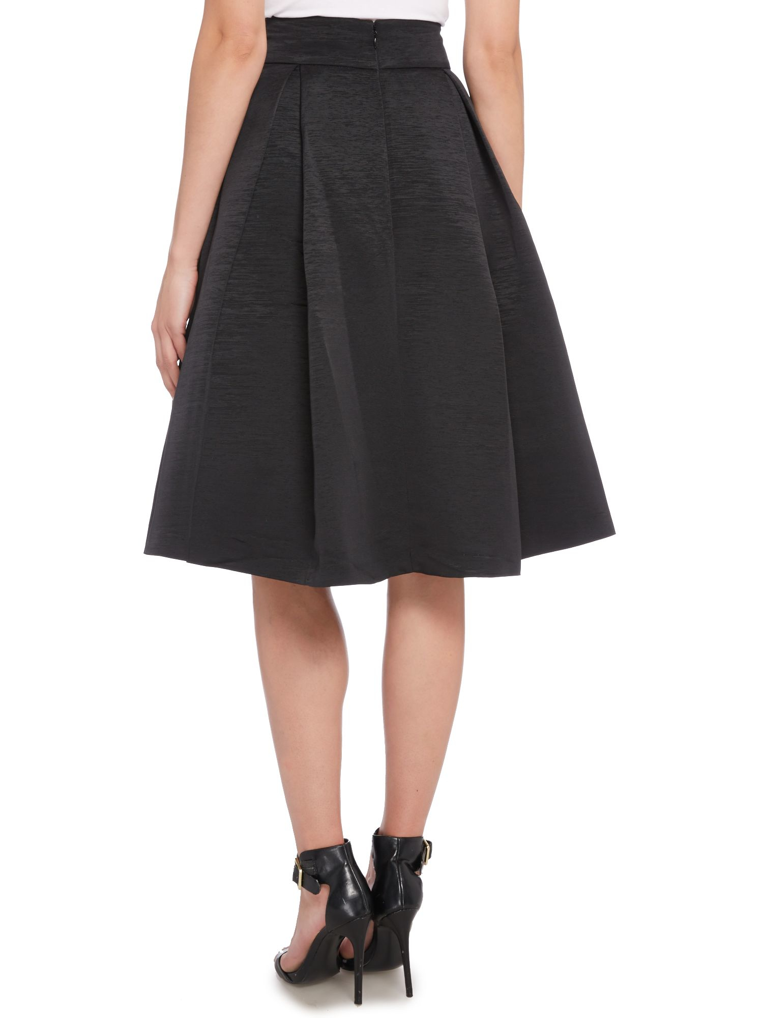 Black pleated school skirt fashion 94