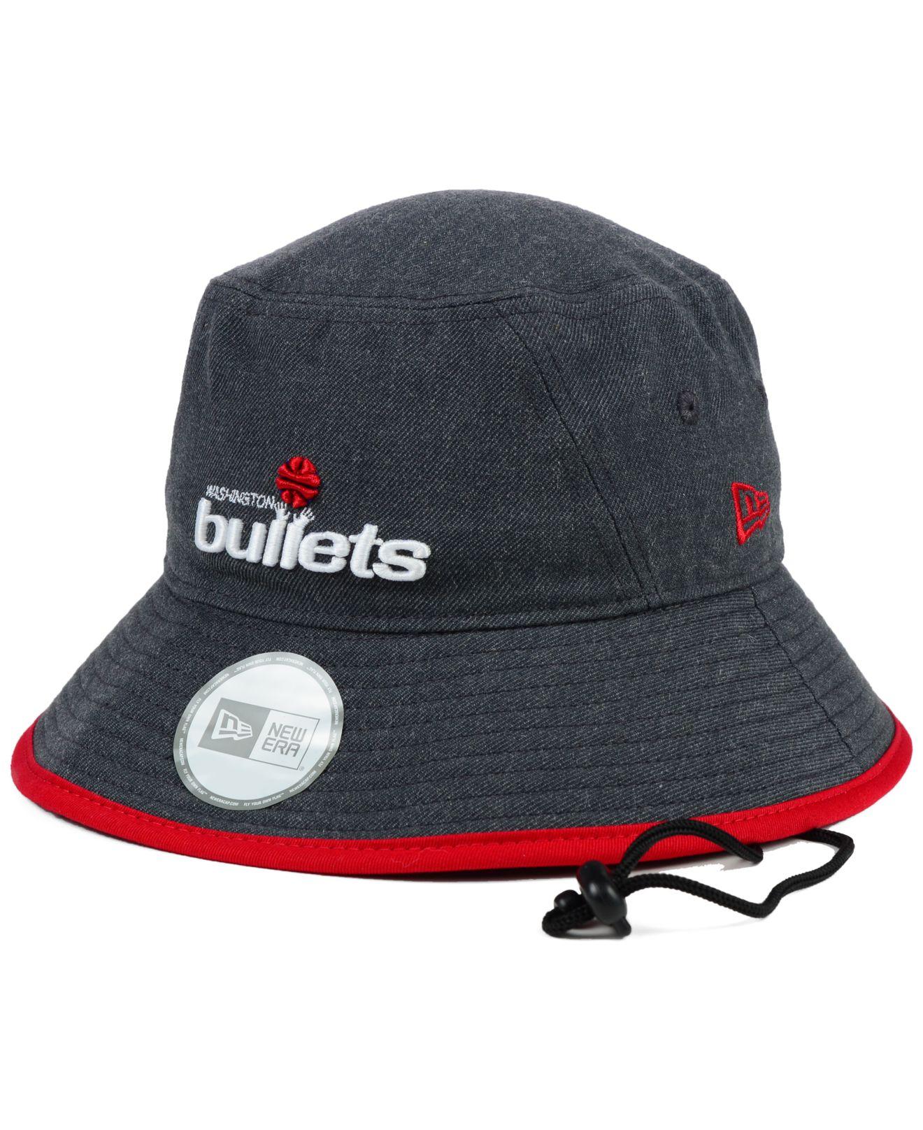 ... order lyst ktz washington bullets dark heather tipped bucket hat in  gray for men 907ac 8d31c e0752e5547fe