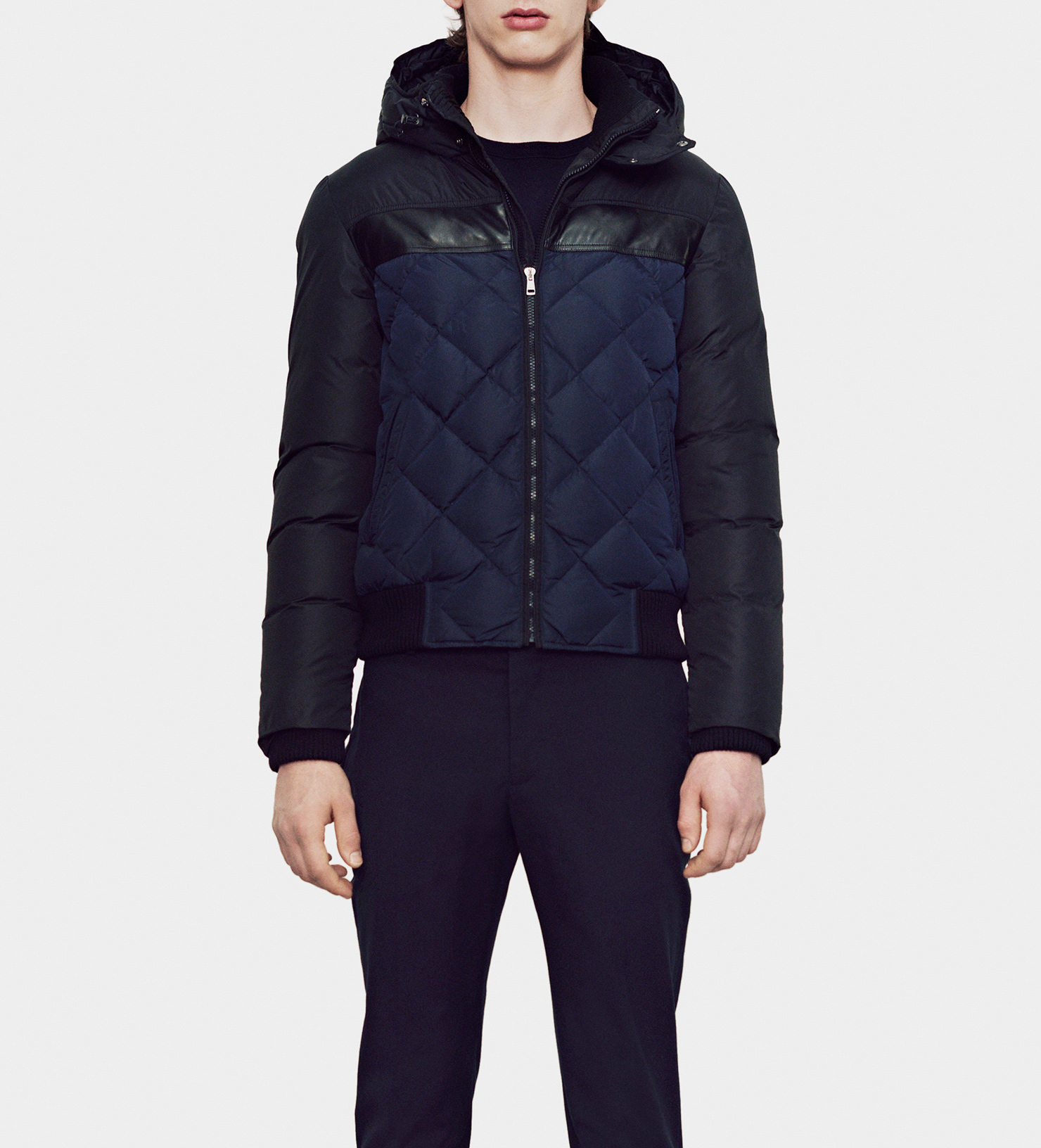 Gucci Lightweight Nylon Quilted Down Filled Jacket in Black for