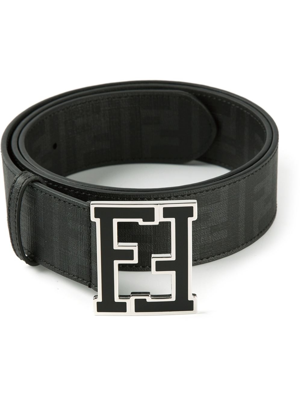 Black Fendi Belt