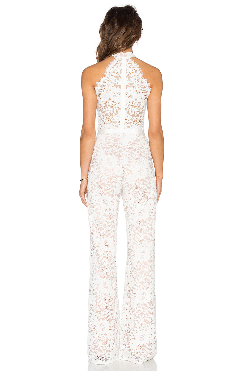 Lyst - Alexis Rene Jumpsuit in White