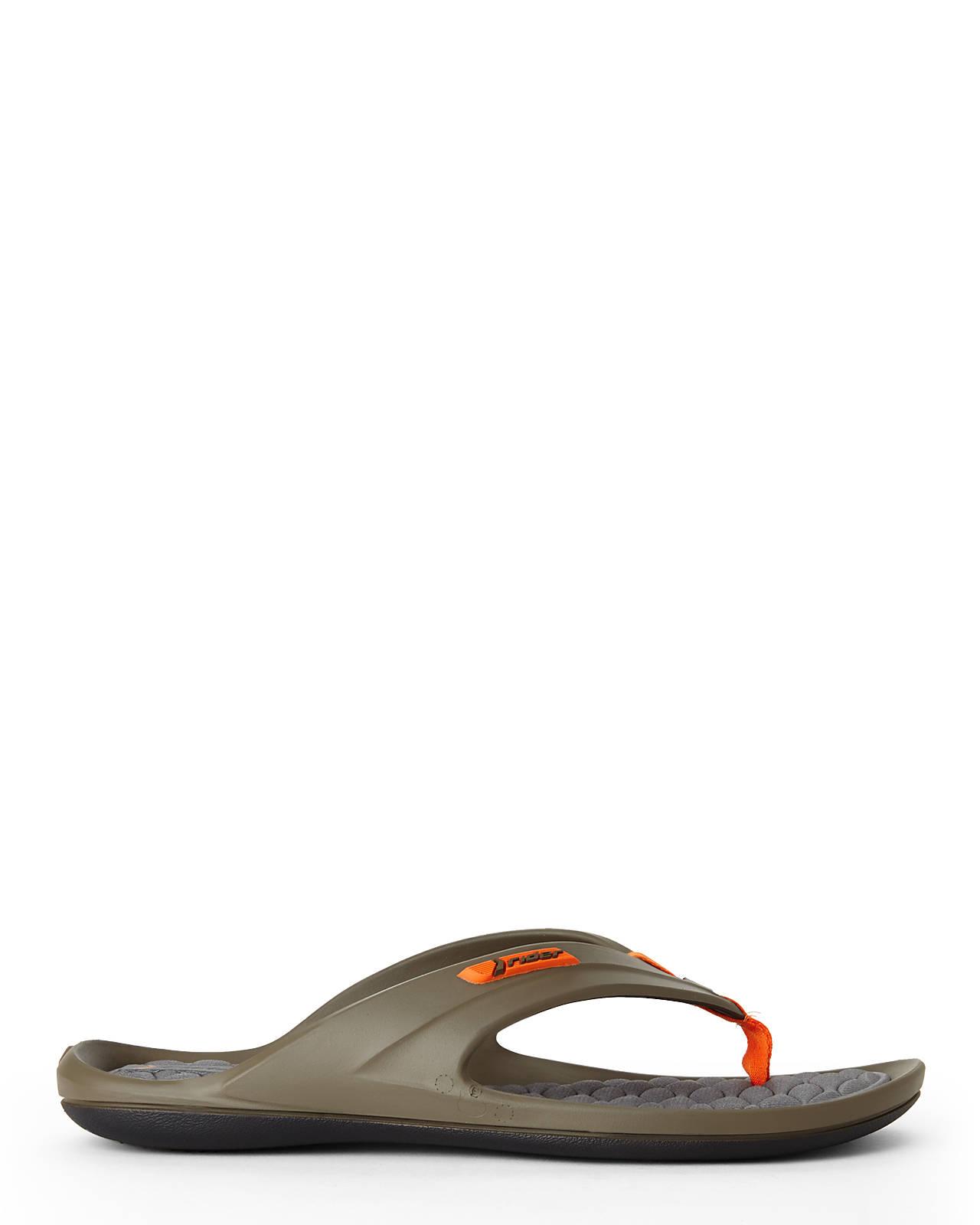 f743792b2db9 Lyst - Rider Taupe   Orange Gulf Sandals in Brown for Men