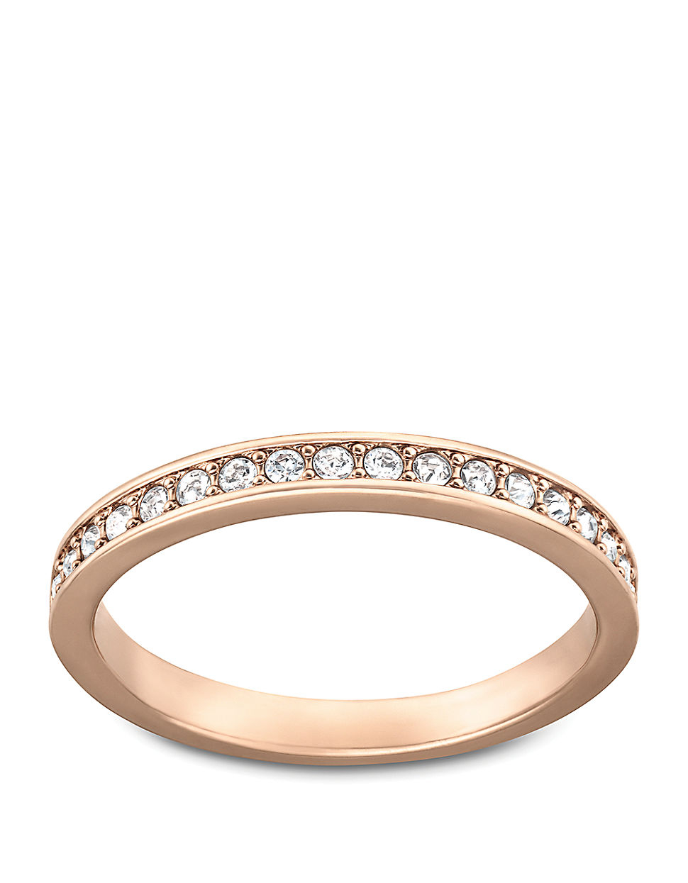 Swarovski Stone Ring Rose Gold