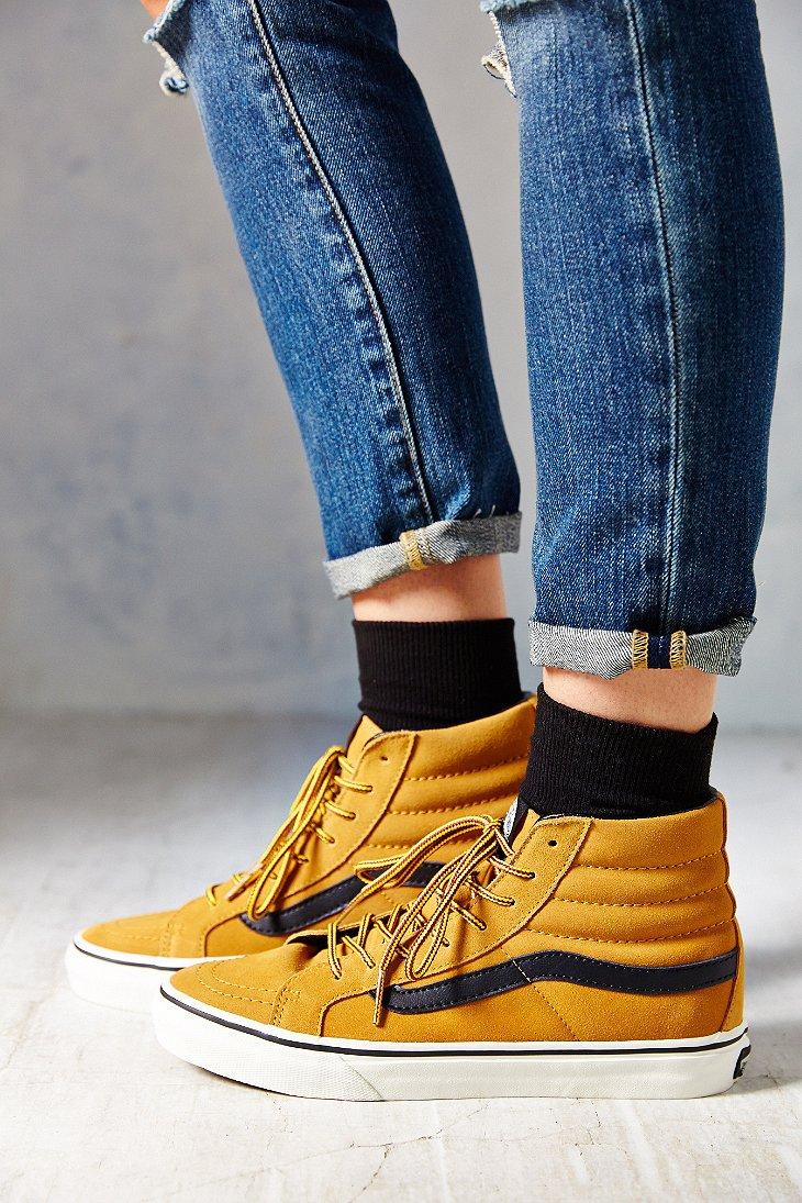 ab0501d485 Lyst - Vans Sk8-Hi Slim Hiker Women S Sneaker in Brown