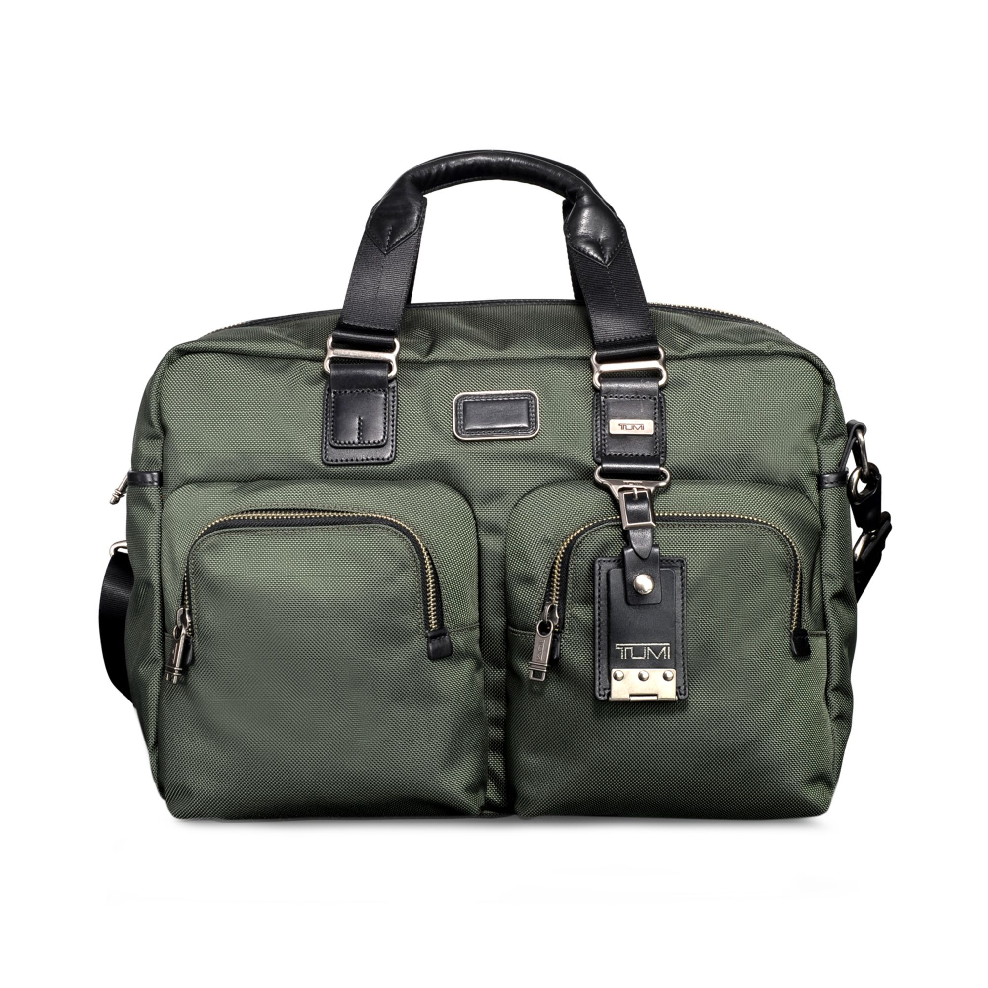 Tumi Alpha Bravo Everett Essential Tote Bag in Green for ...