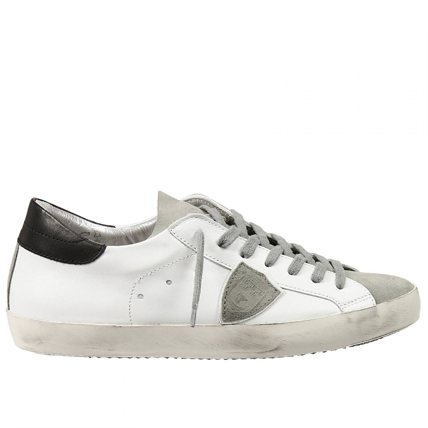 philippe model sneakers in white for men lyst. Black Bedroom Furniture Sets. Home Design Ideas