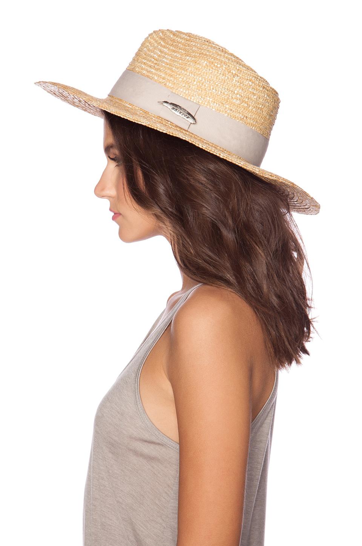 3e706d6c16398 ... spain lyst brixton dixie hat in natural e9db8 b9ac7