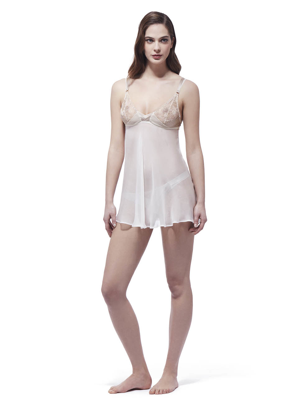 Myla Babydoll in White... Dita Eyewear