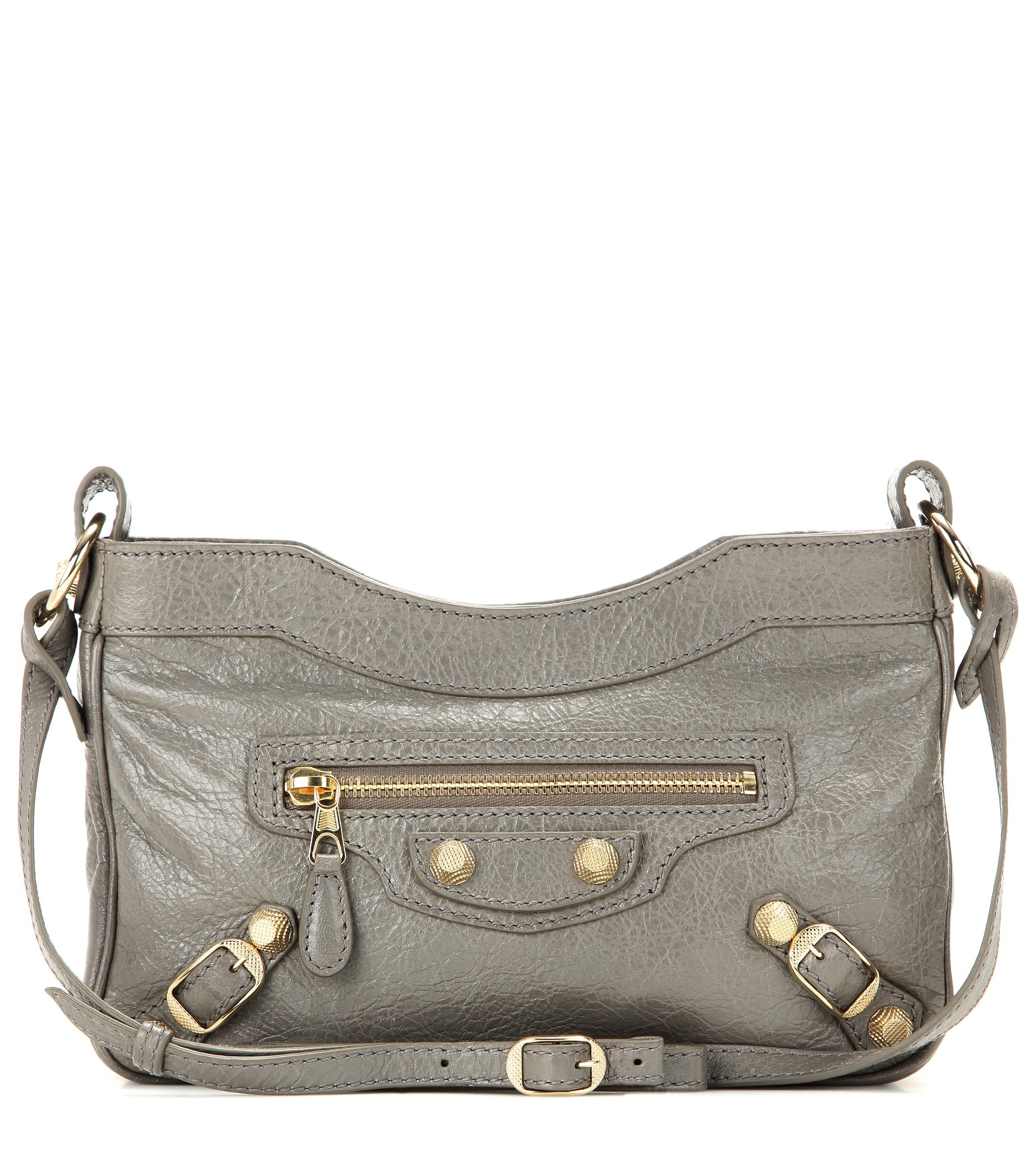 f2286cf894ea balenciaga factory outlet - Balenciaga Giant 12 Hip Leather Shoulder Bag in  Gray (grey)