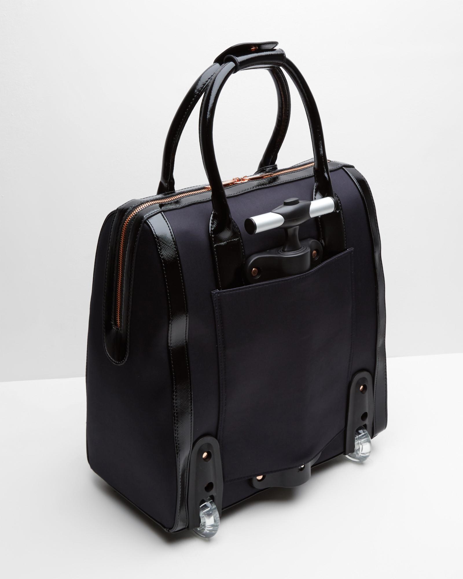 Ted Baker Cosmic Bloom Travel Bag In Multicolor Black Lyst