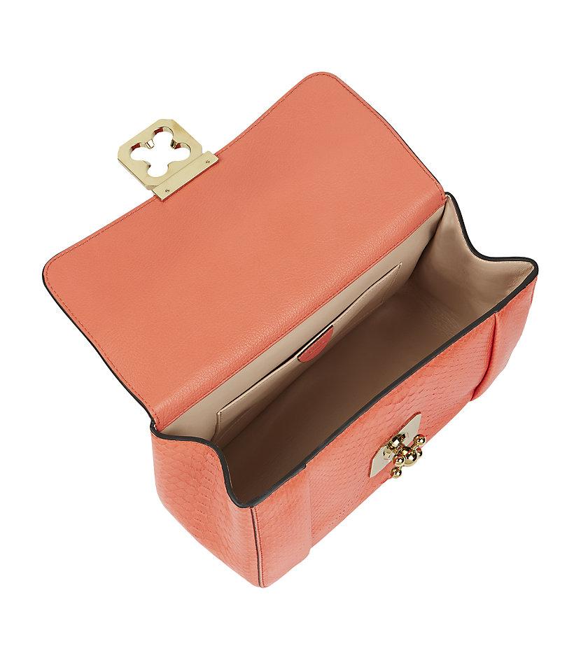 chloie bags - chloe metallic python shoulder bag, chloe handbags shop online