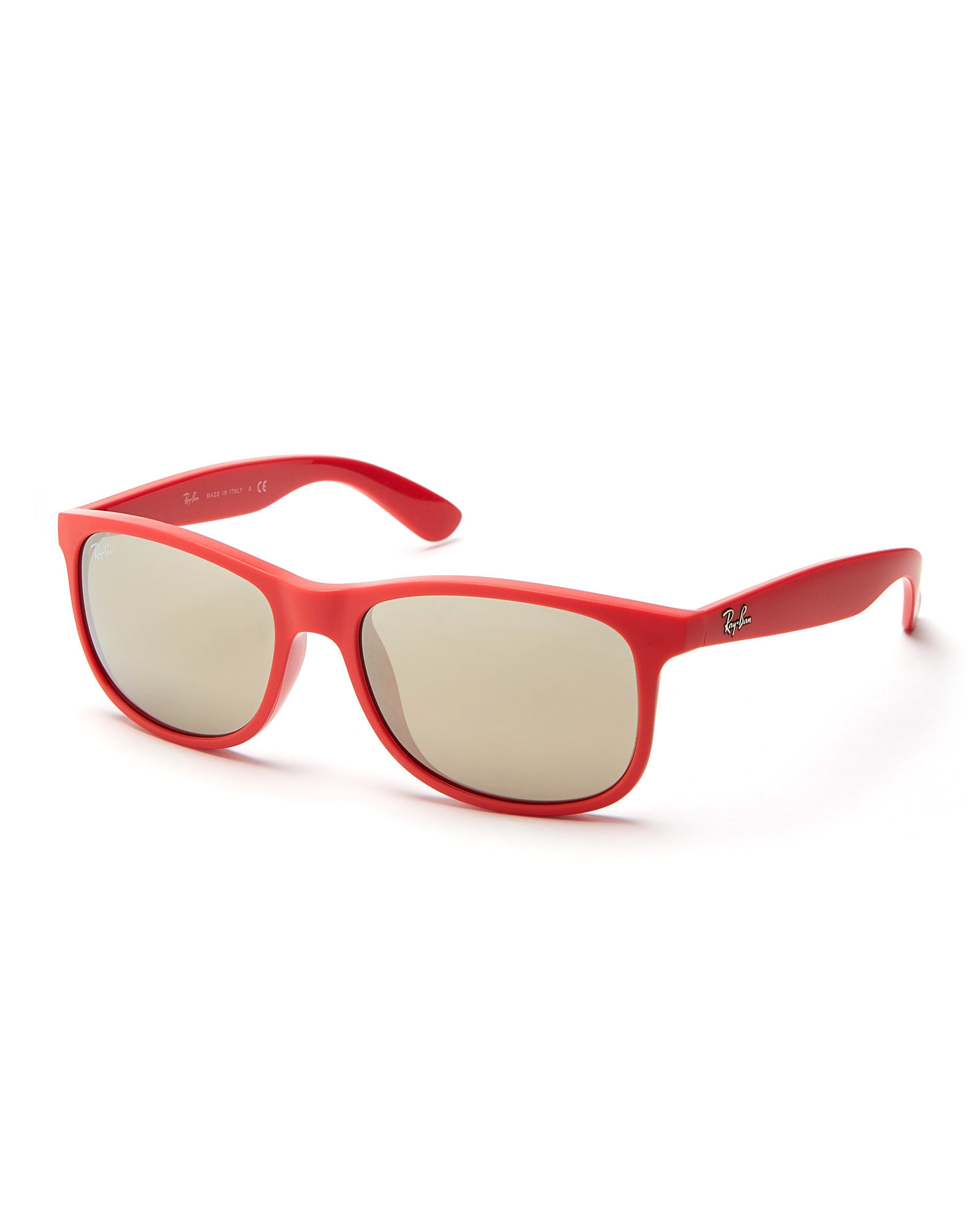 6a7f13bda2e54 ... ireland lyst ray ban red rb4202 andy wayfarer sunglasses in red 15a4a  503ff
