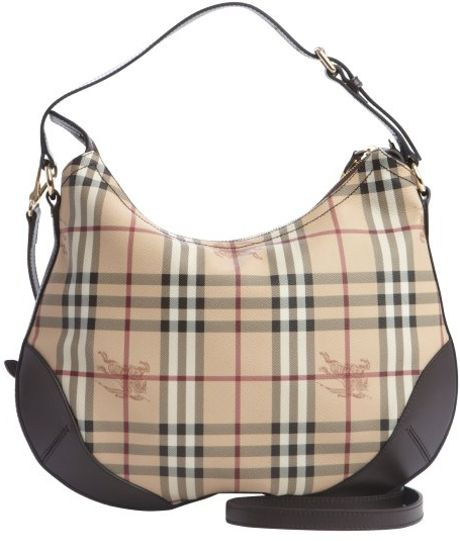 Burberry Brown Leather Shoulder Bag 103