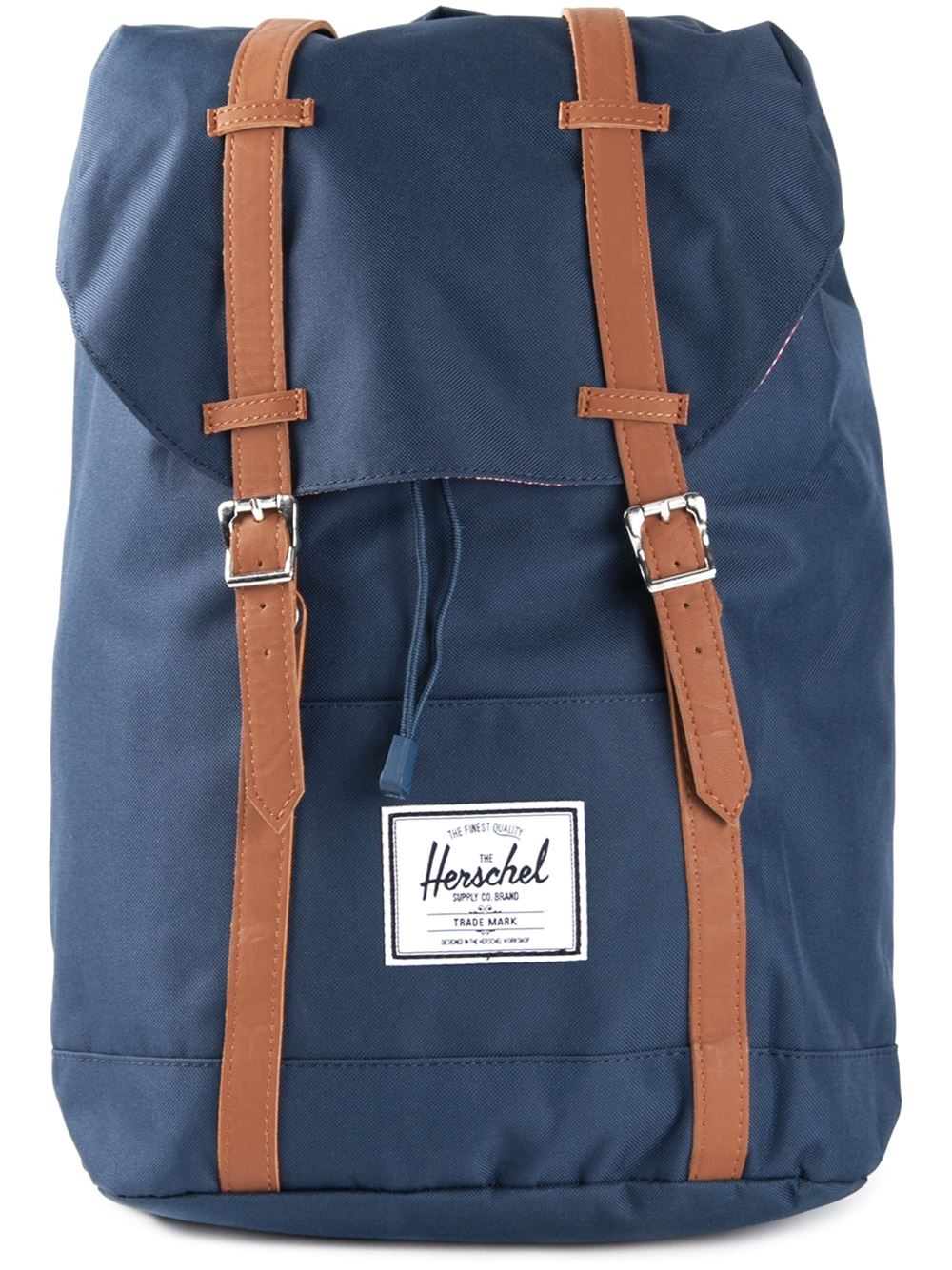 herschel supply co 39 retreat 39 backpack in blue for men lyst. Black Bedroom Furniture Sets. Home Design Ideas