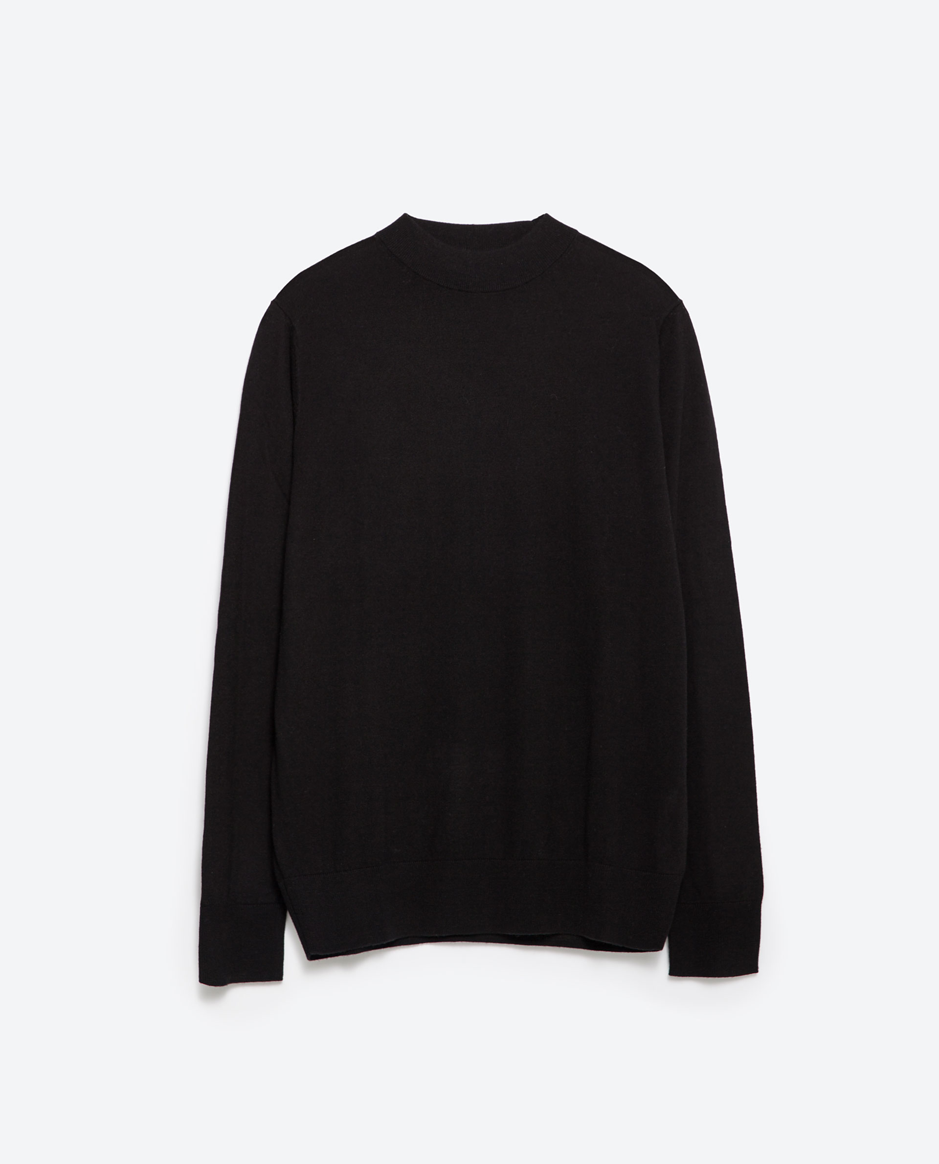 Zara Black High Neck Sweater 99