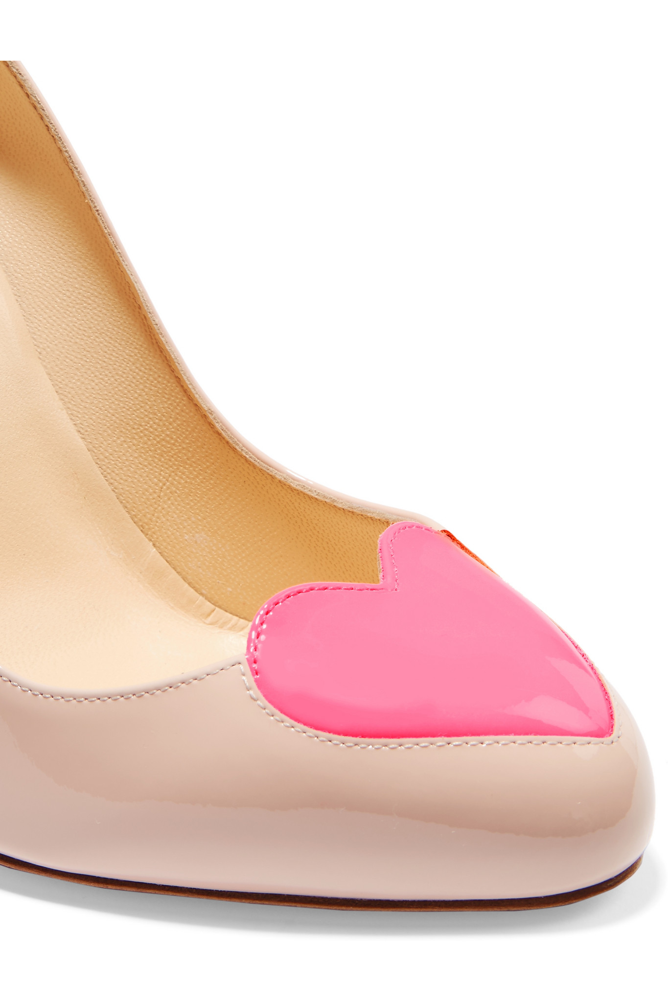 Christian Louboutin Doracora Patent Leather Pumps In Pink