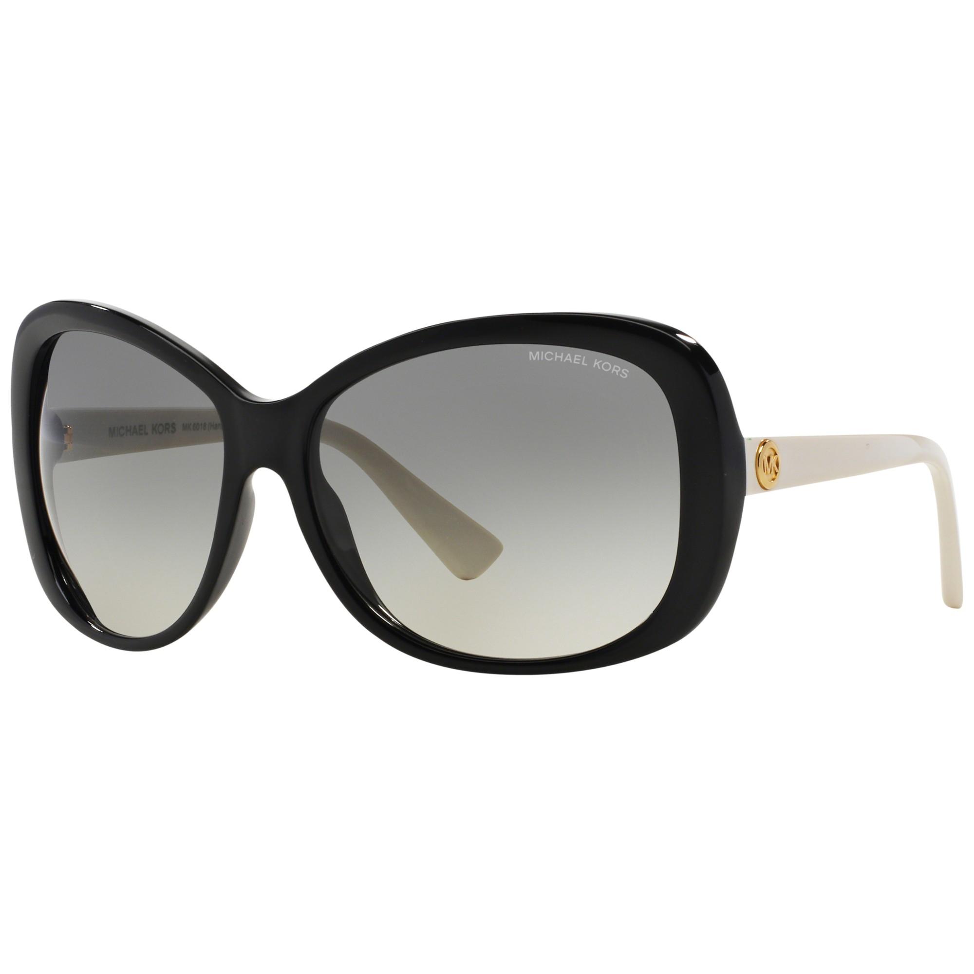 77fab36ac0 Michael Kors Mk6018 Butterfly Framed Sunglasses in Black - Lyst