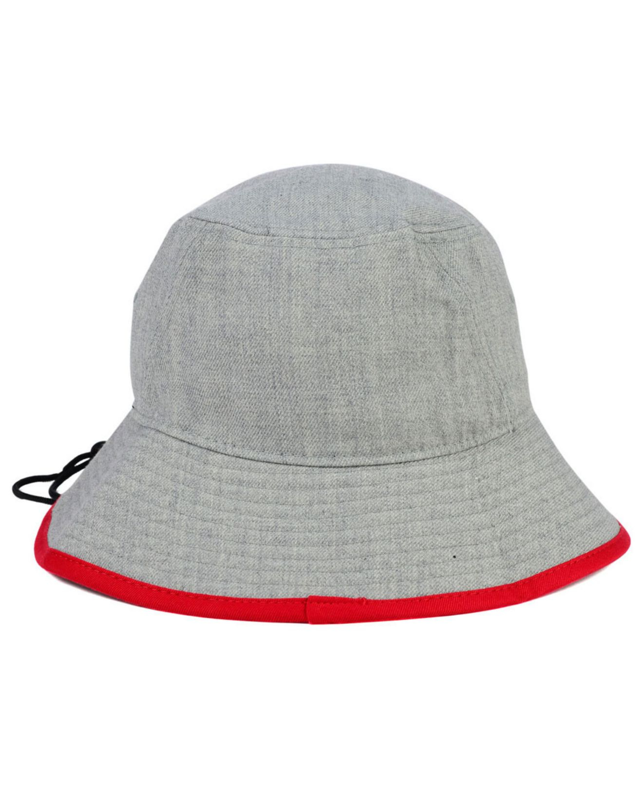 low priced 9a788 6c692 KTZ North Carolina State Wolfpack Tip Bucket Hat in Gray for Men - Lyst