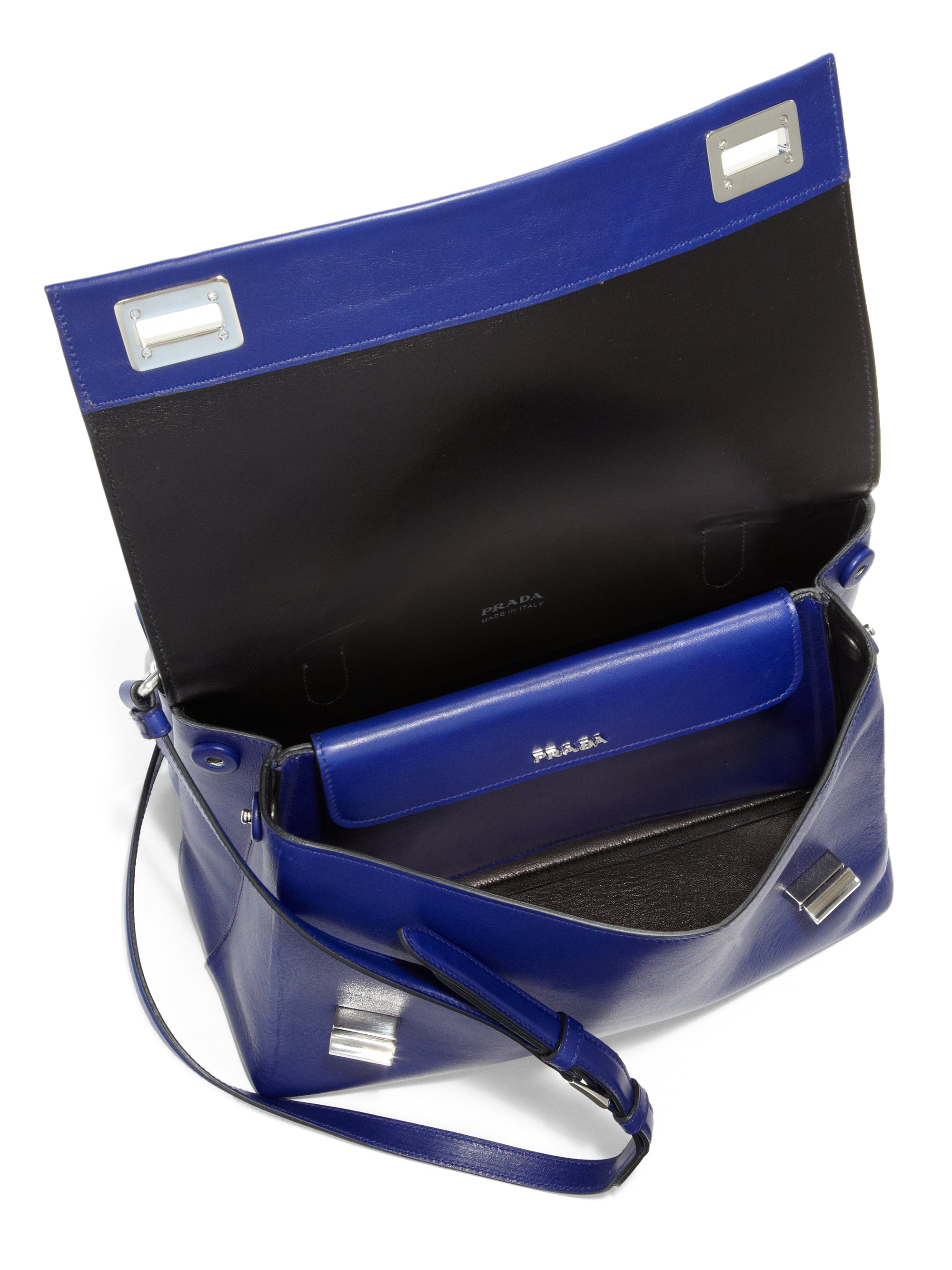 prada ayers double bag womens prada portefeuille. Black Bedroom Furniture Sets. Home Design Ideas