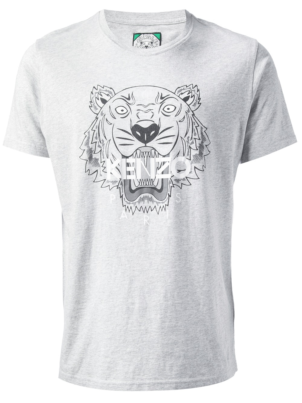 6d0126c5 KENZO Tiger Print T-shirt in Gray for Men - Lyst